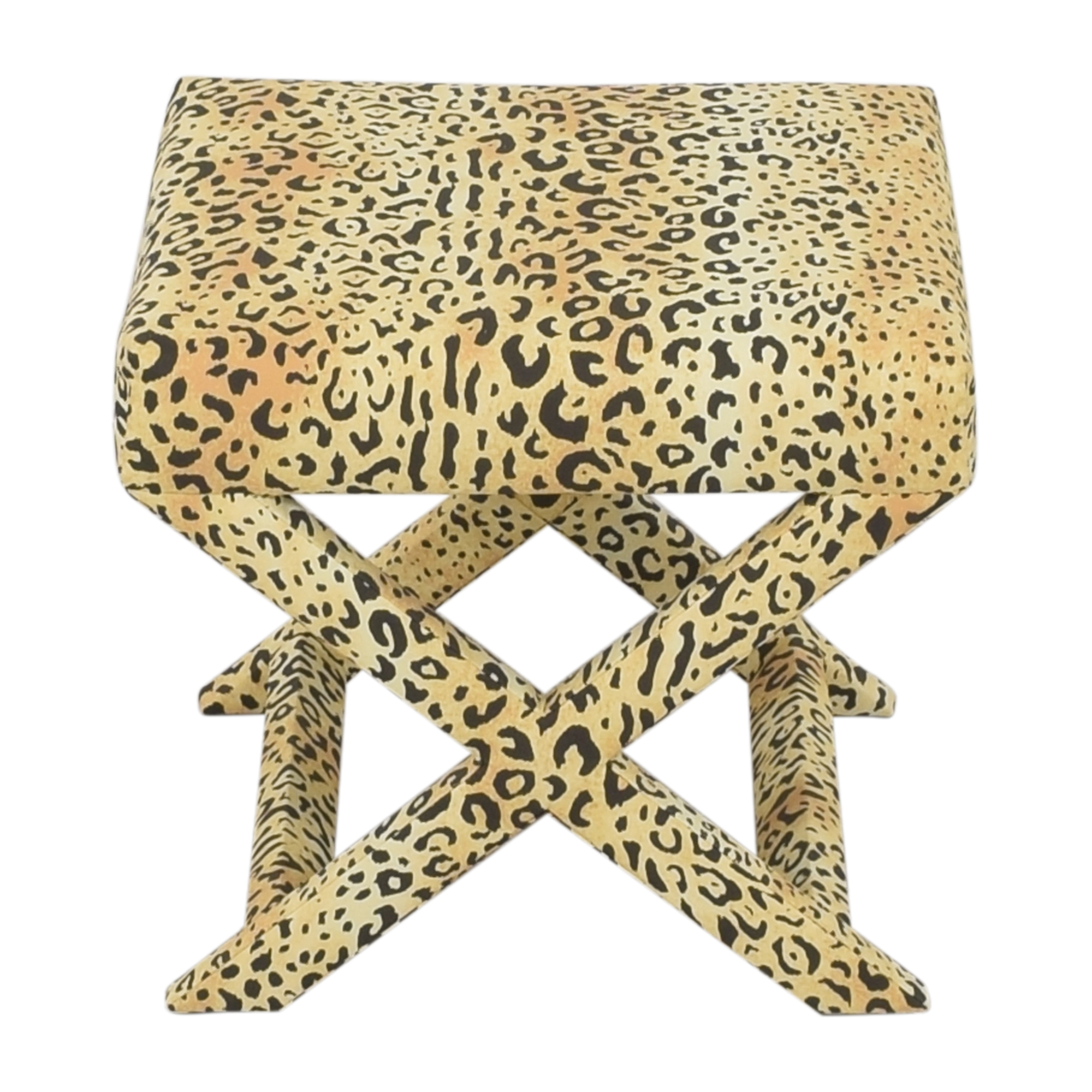 The Inside The Inside Leopard X Bench for sale