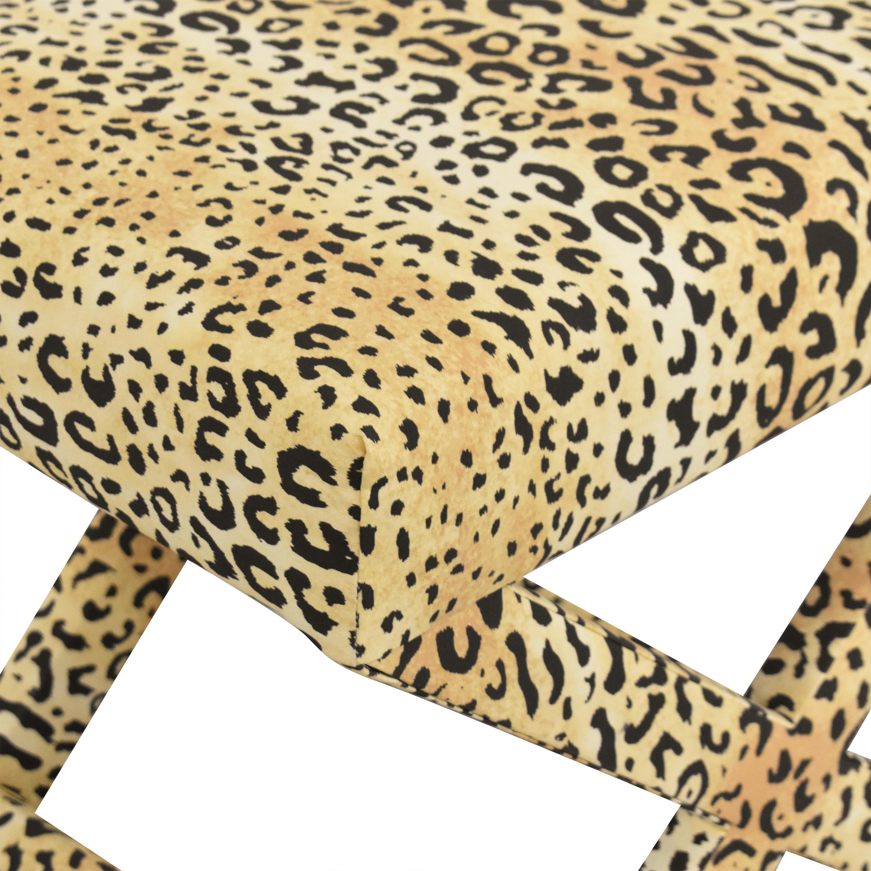 The Inside The Inside Leopard X Bench pa