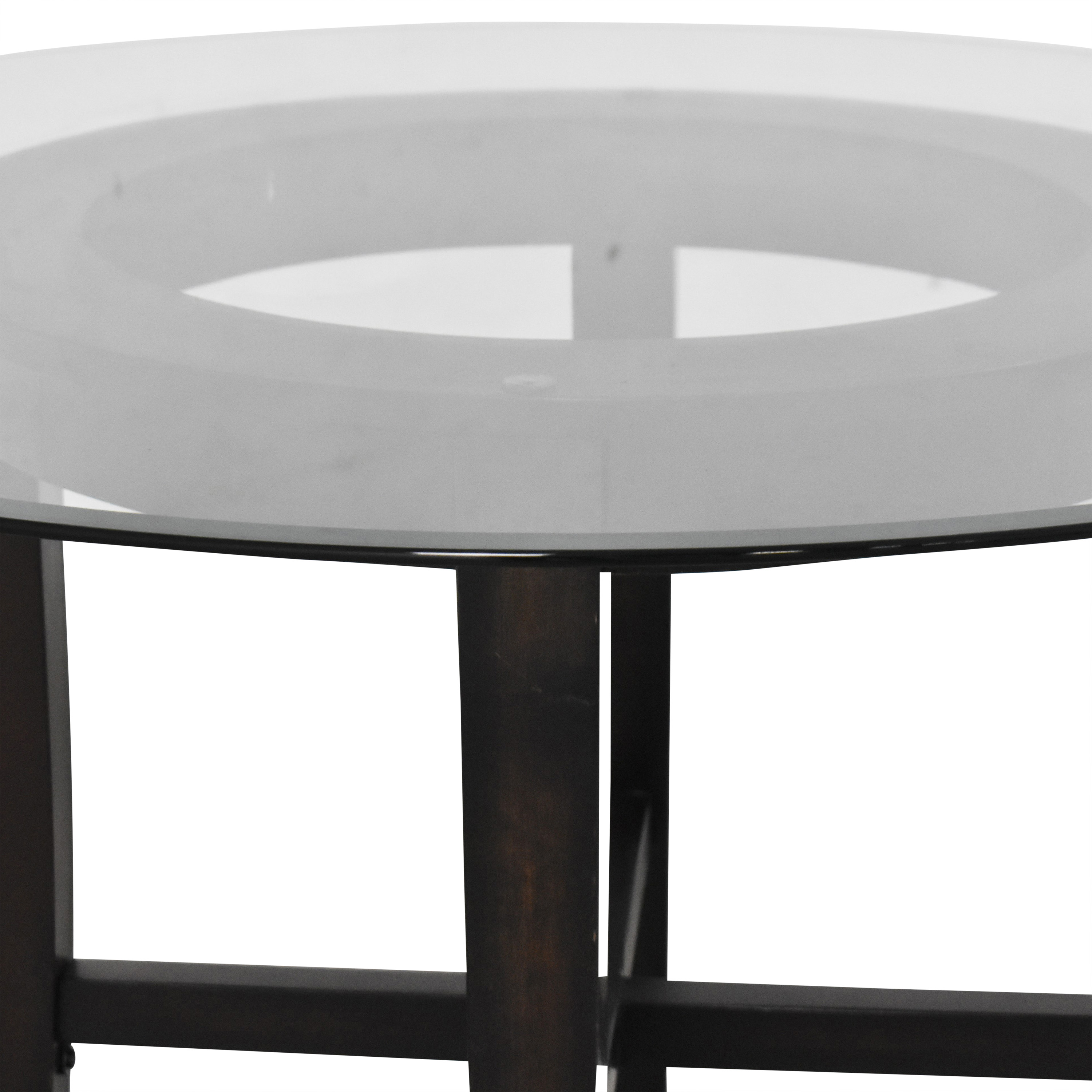 Ashley Furniture Ashley Furniture Zimmer Round Dining Table ct
