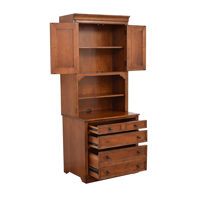 Sligh Furniture Sligh Furniture Bookcase Cabinet Bookcases & Shelving