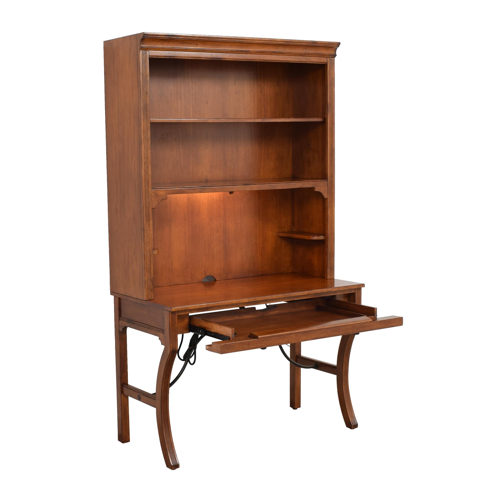 Sligh Furniture Sligh Furniture Single Drawer Desk with Hutch  coupon