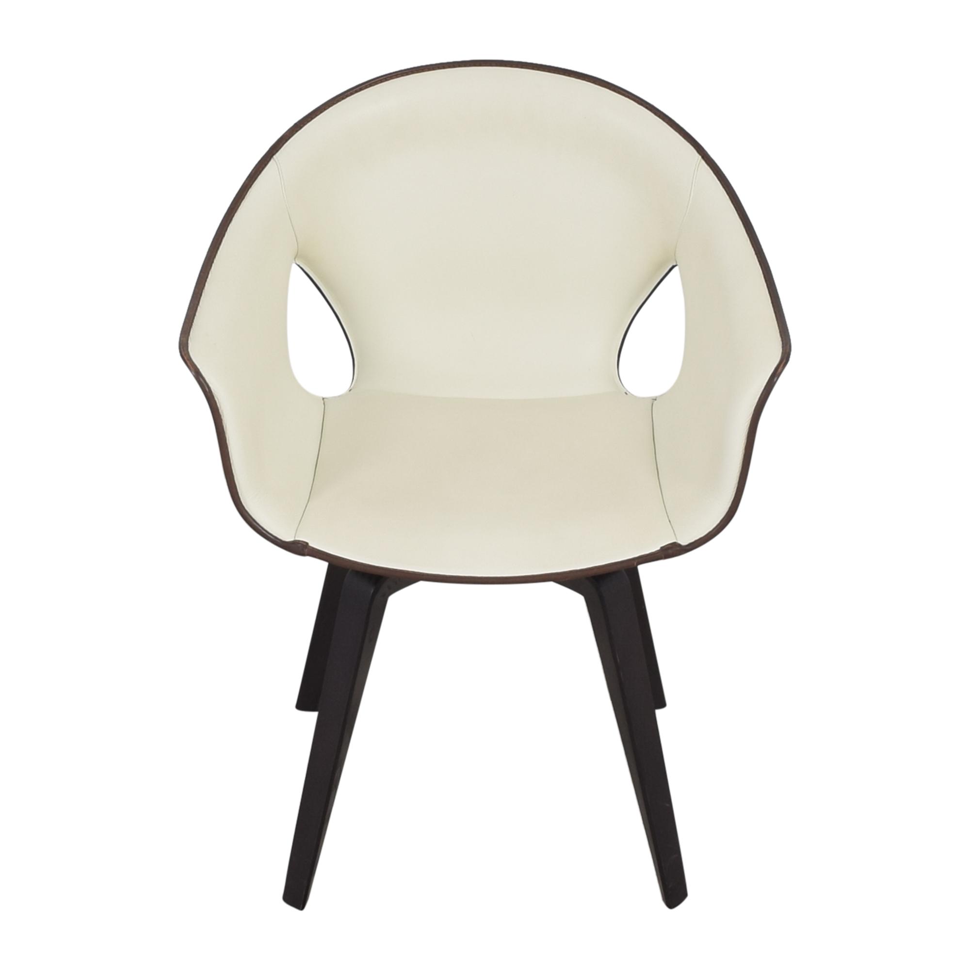 buy Poltrona Frau Ginger Side Chair Poltrona Frau Accent Chairs
