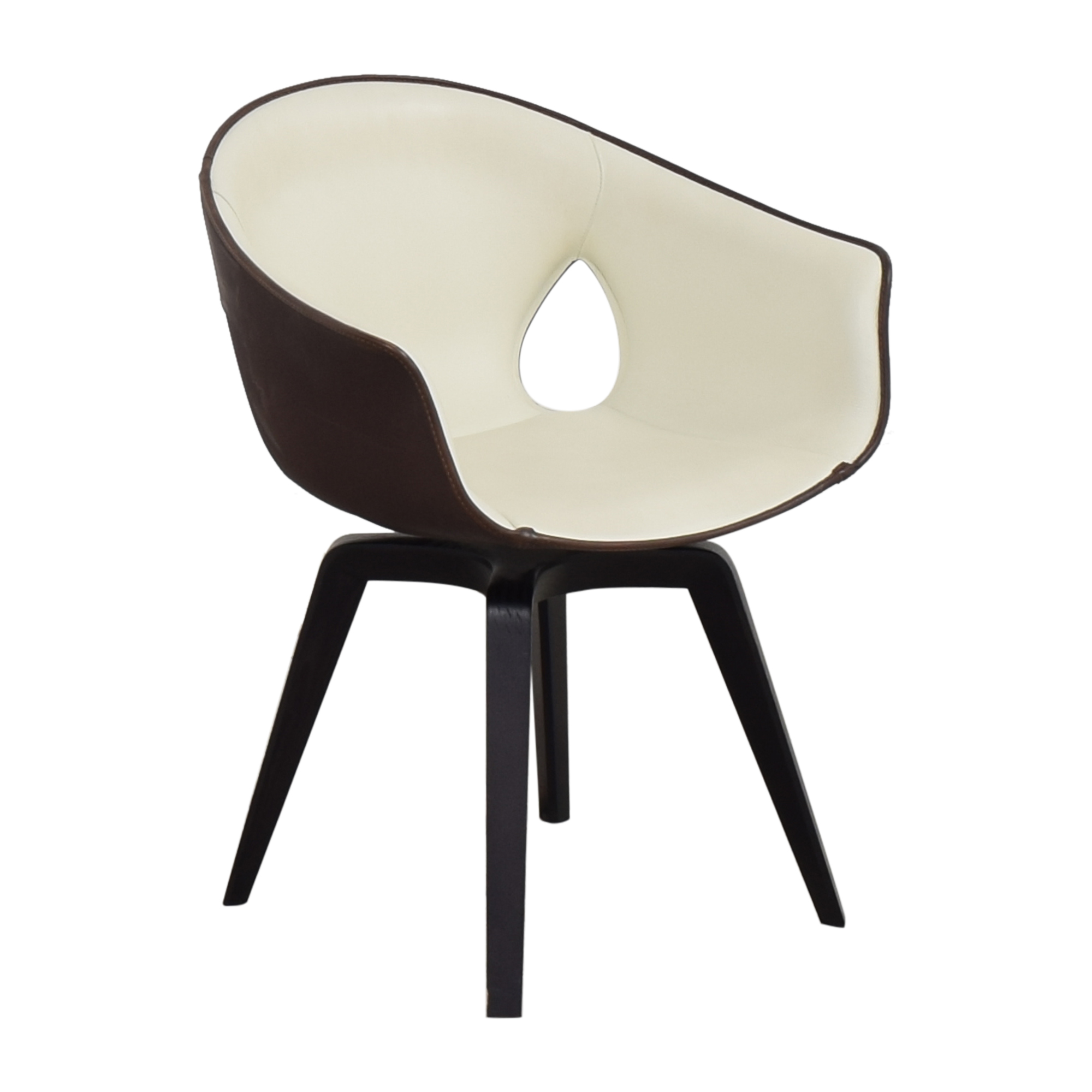 Poltrona Frau Poltrona Frau Ginger Side Chair discount