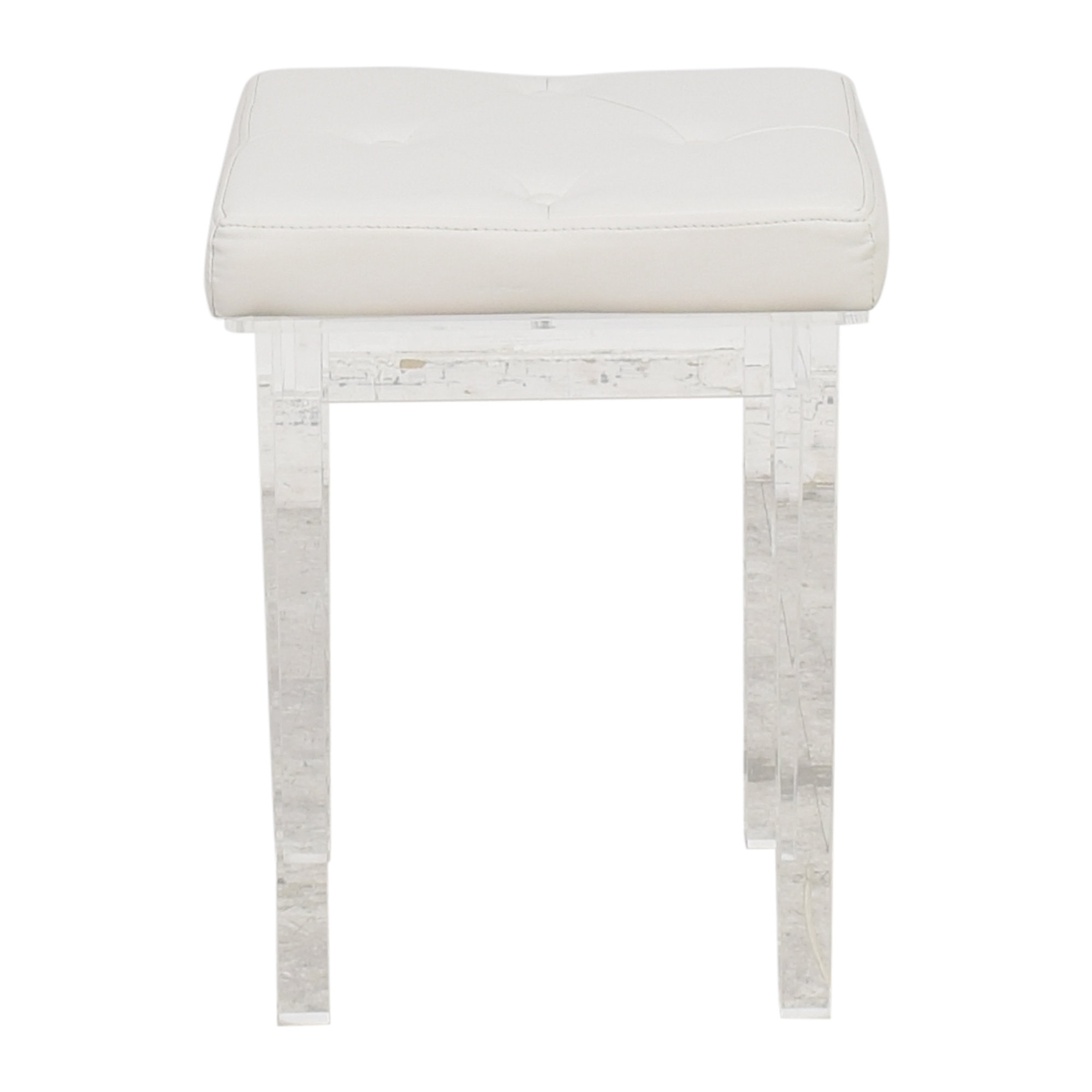 Square Vanity Bench used