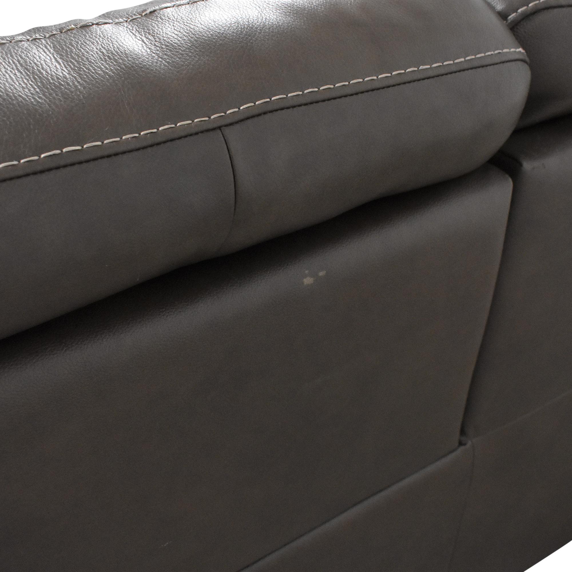 Natuzzi Natuzzi Three Cushion Reclining Sofa price