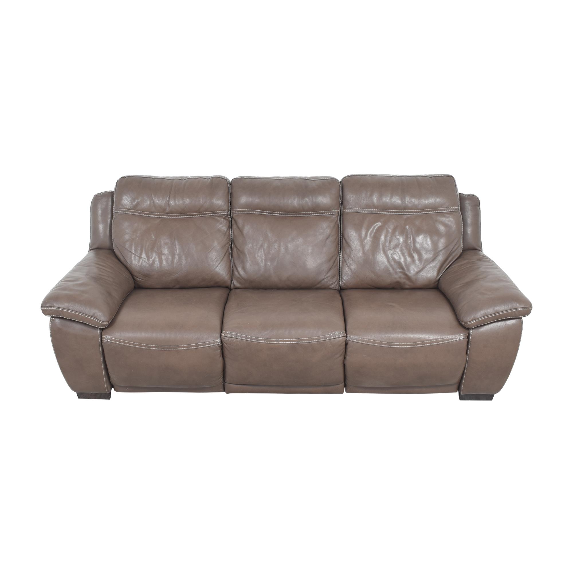 Natuzzi Natuzzi Three Cushion Reclining Sofa for sale