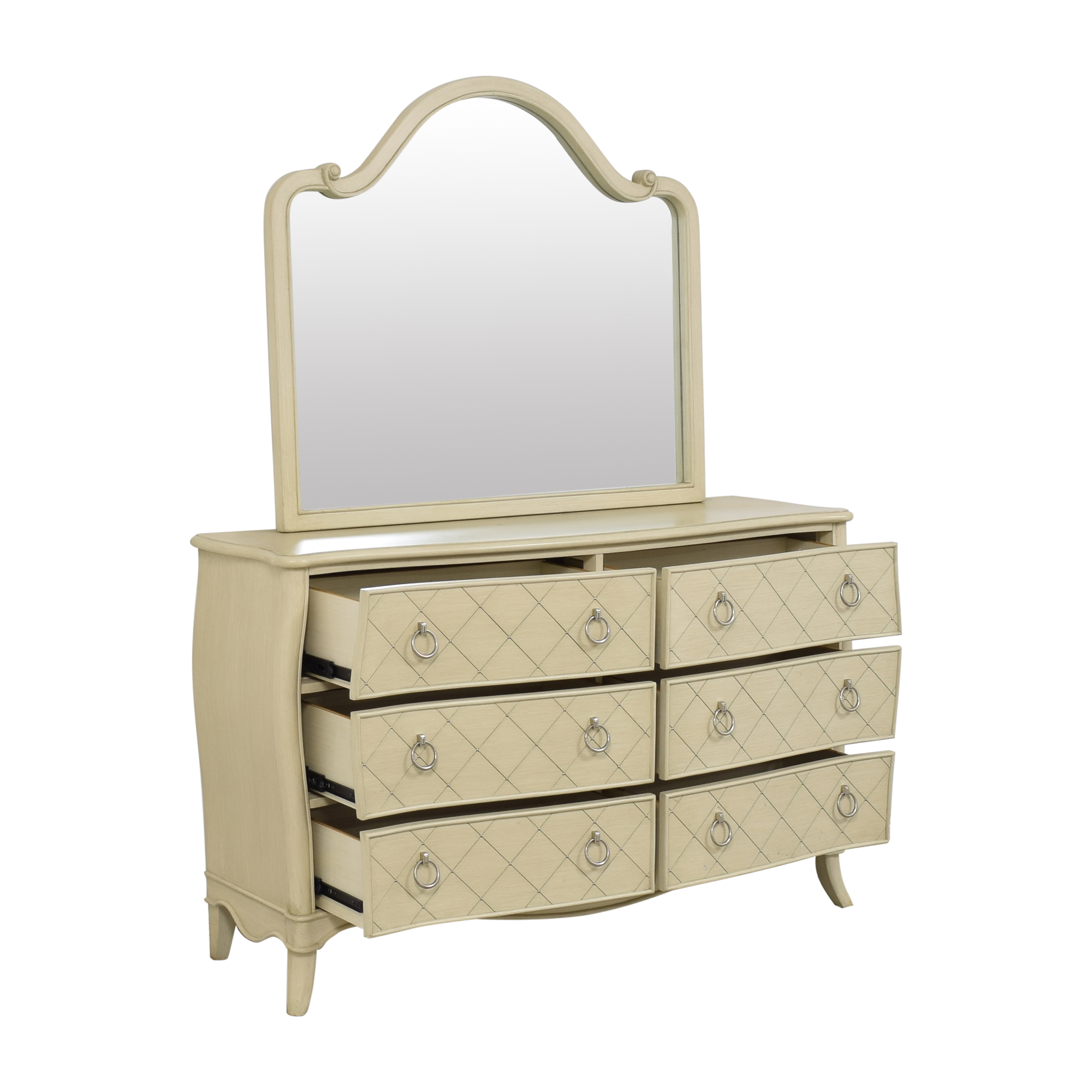 Raymour & Flanigan Raymour & Flanigan Dresser with Mirror for sale