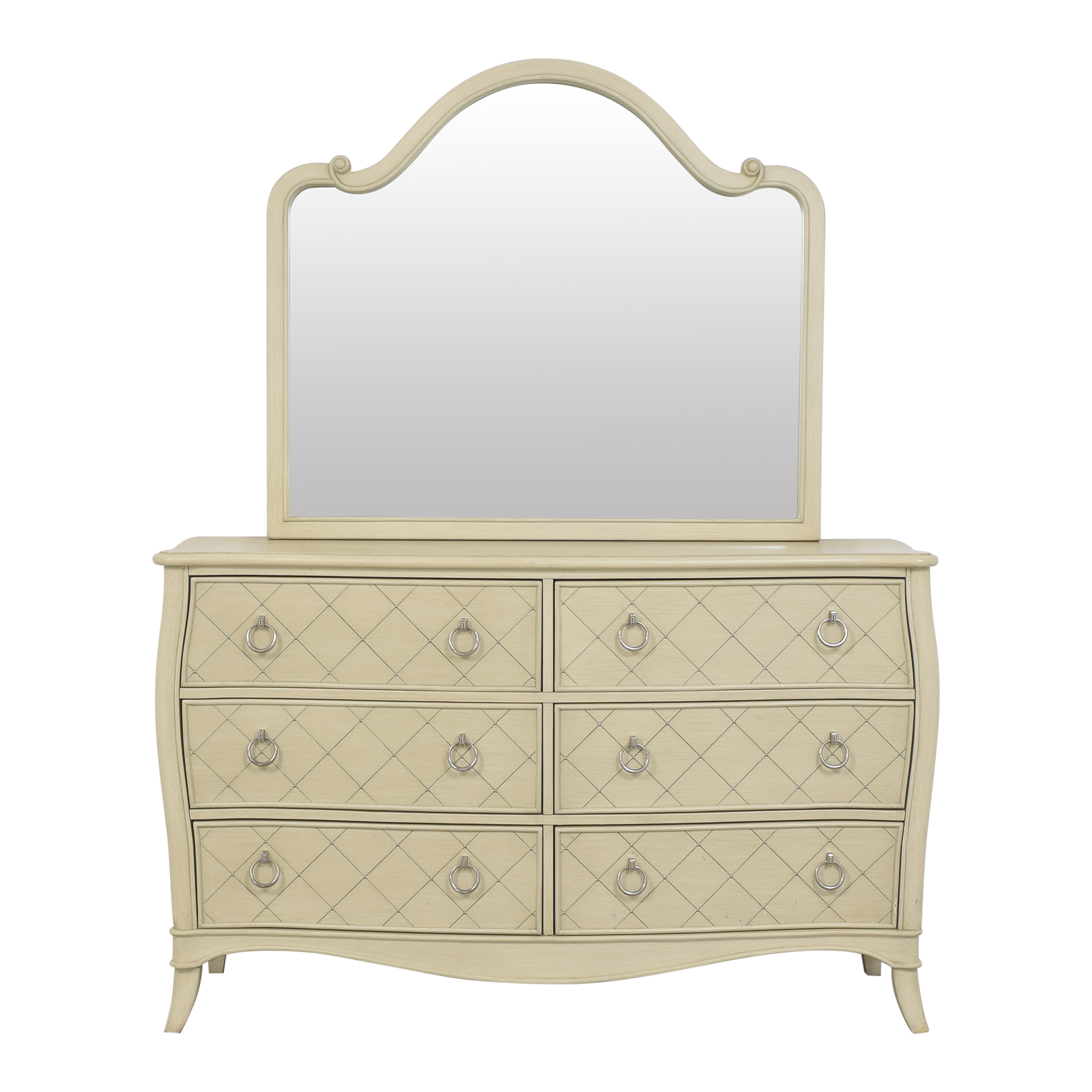 buy Raymour & Flanigan Dresser with Mirror Raymour & Flanigan Storage