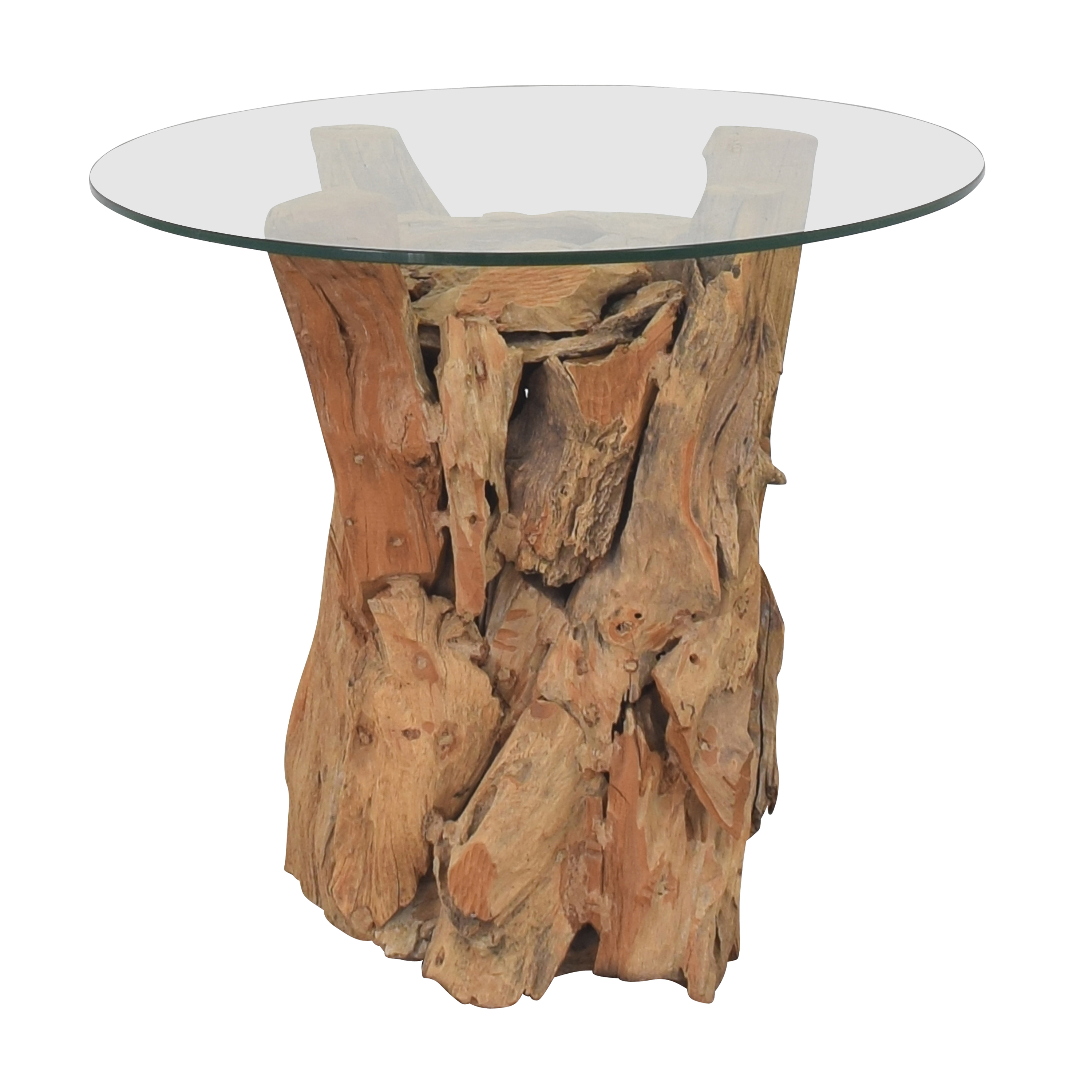 CB2 CB2 Driftwood-Style End Table Tables