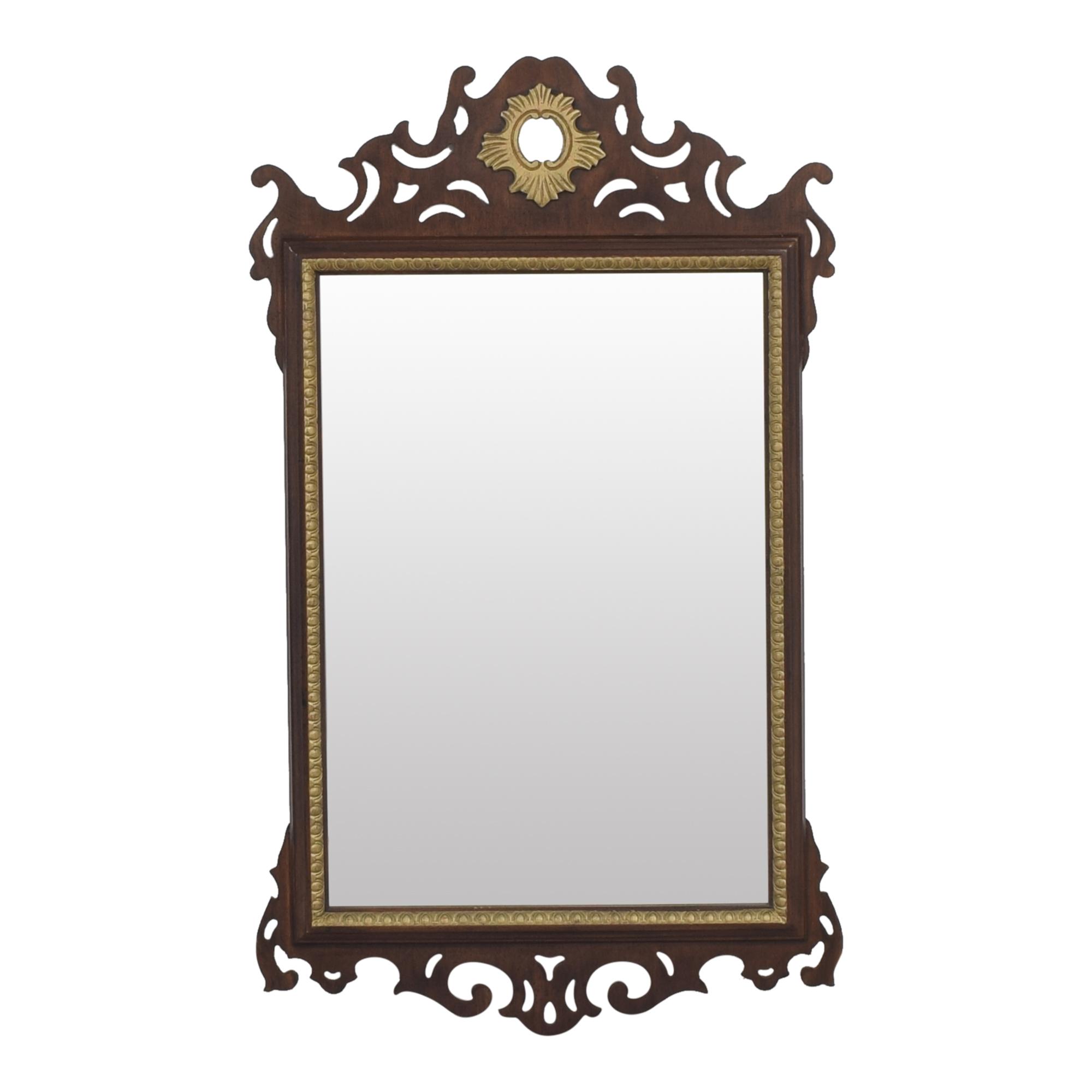 Carolina Mirror Ornate Framed Wall Mirror Carolina Mirror