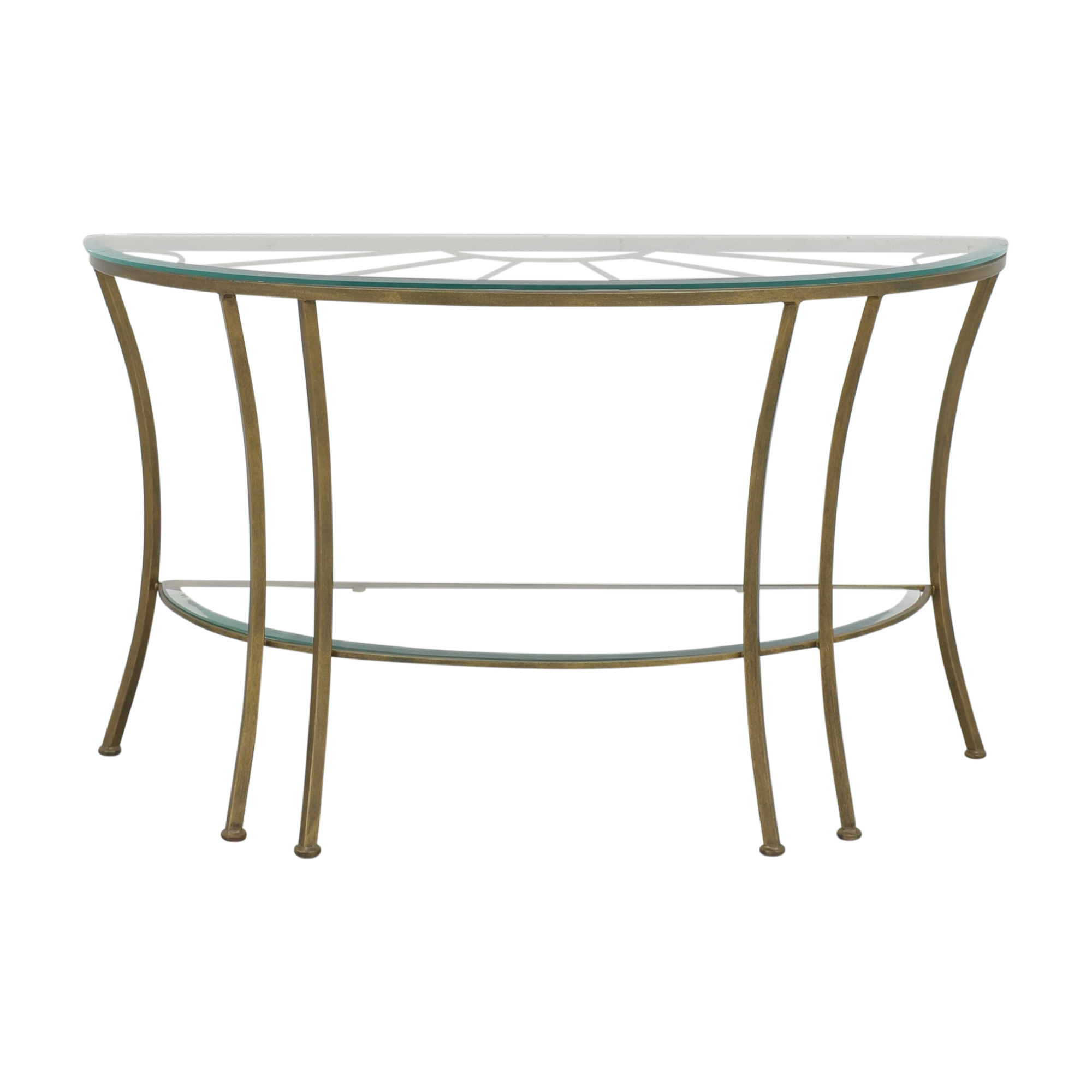 Demilune Console Table nyc