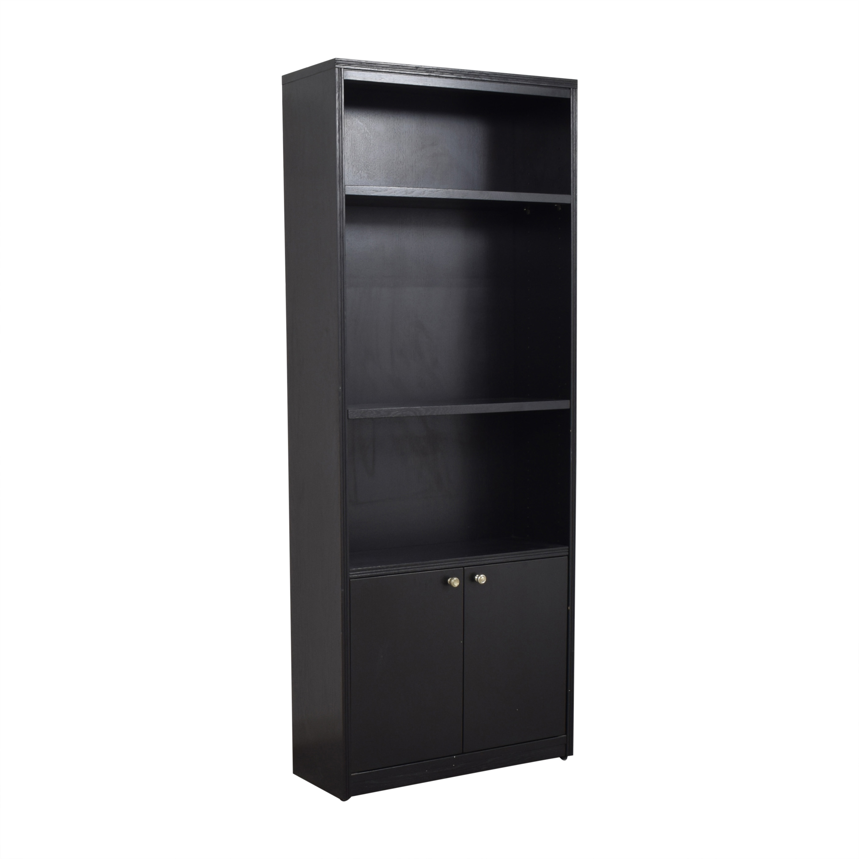 shop Dallek Tall Bookcase Cabinet Dallek Storage