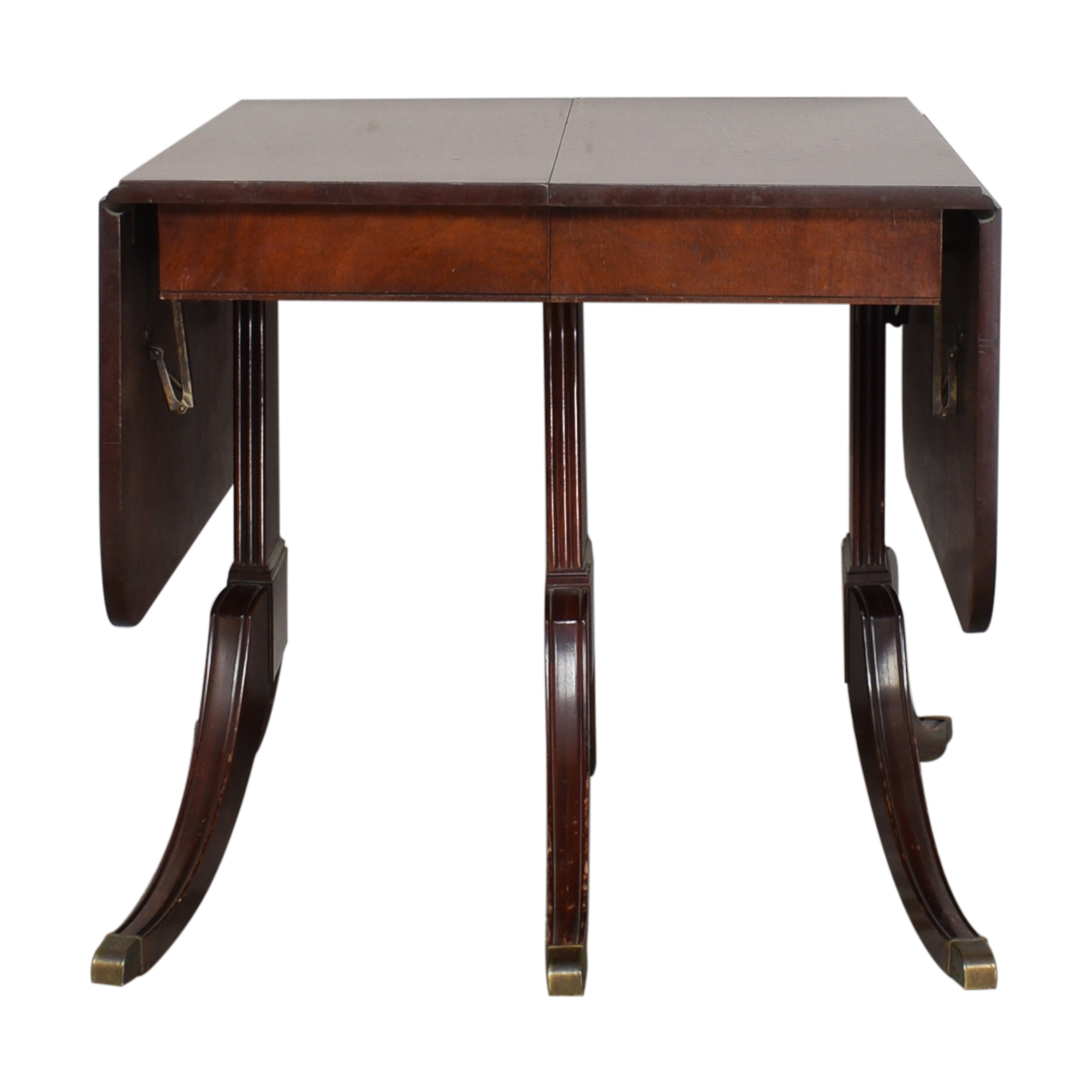 Drop-Leaf Extension Dining Table nyc