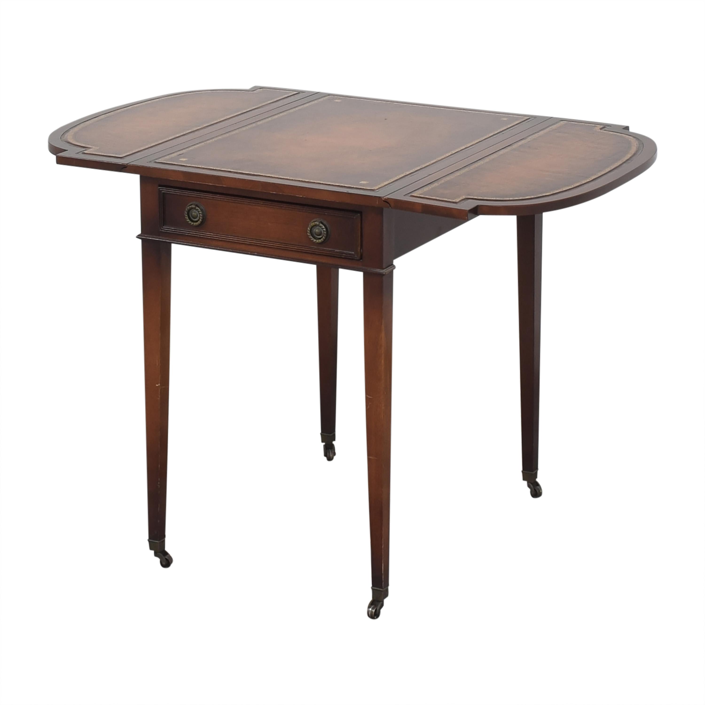 buy Gordon's Drop-Leaf Accent Table Gordon's Furniture End Tables