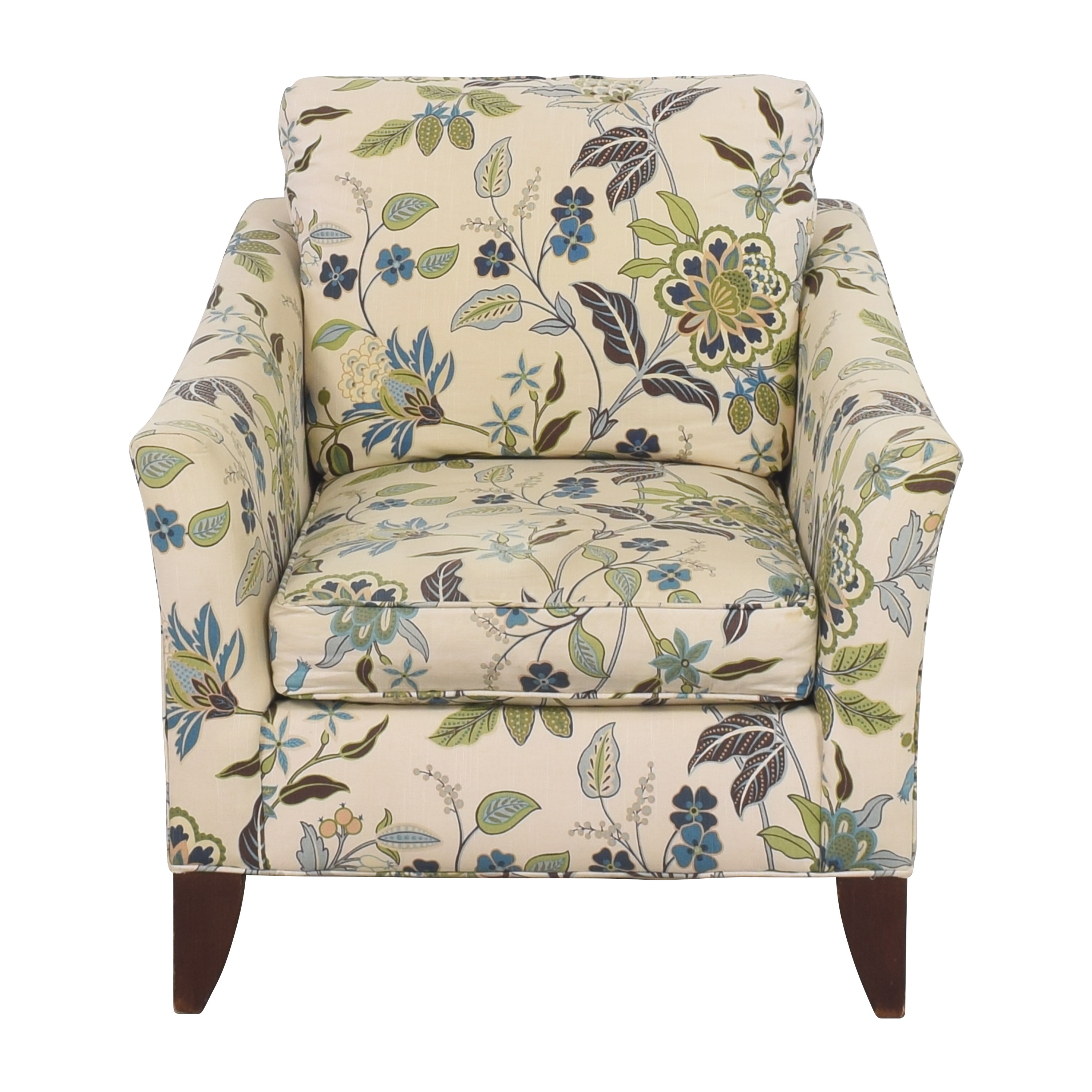 Craftmaster Furniture Craftmaster Floral Accent Chair used