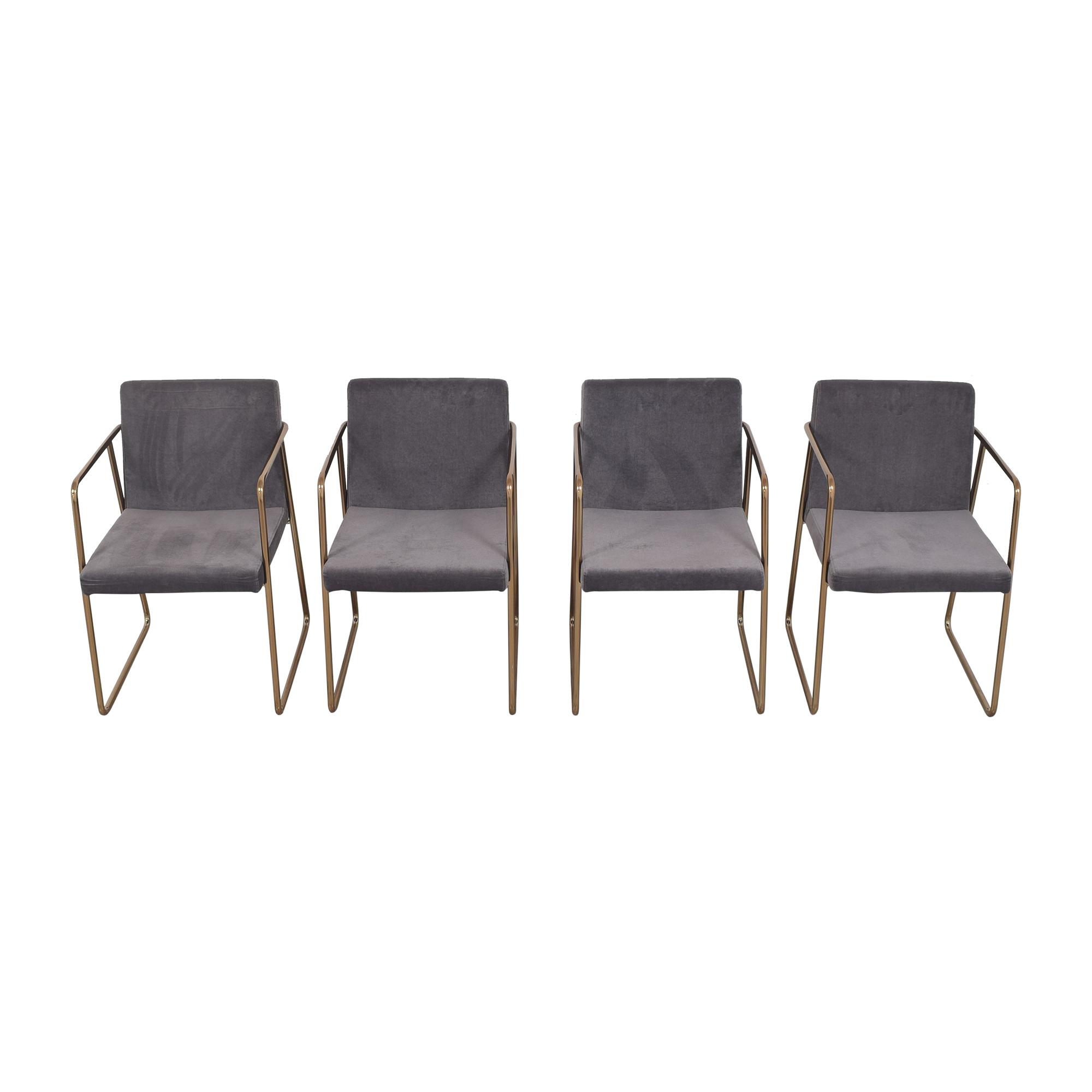 CB2 CB2 Rouka Chairs Dining Chairs