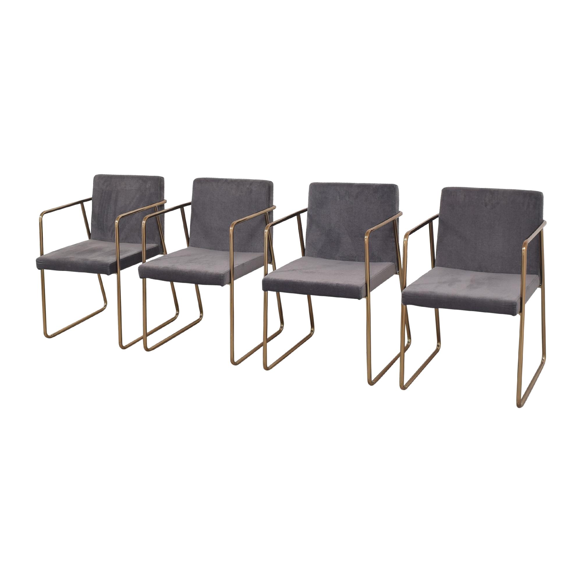 shop CB2 Rouka Chairs CB2 Chairs