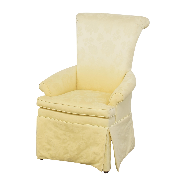 Ethan Allen Ethan Allen Skirted Host Chair discount