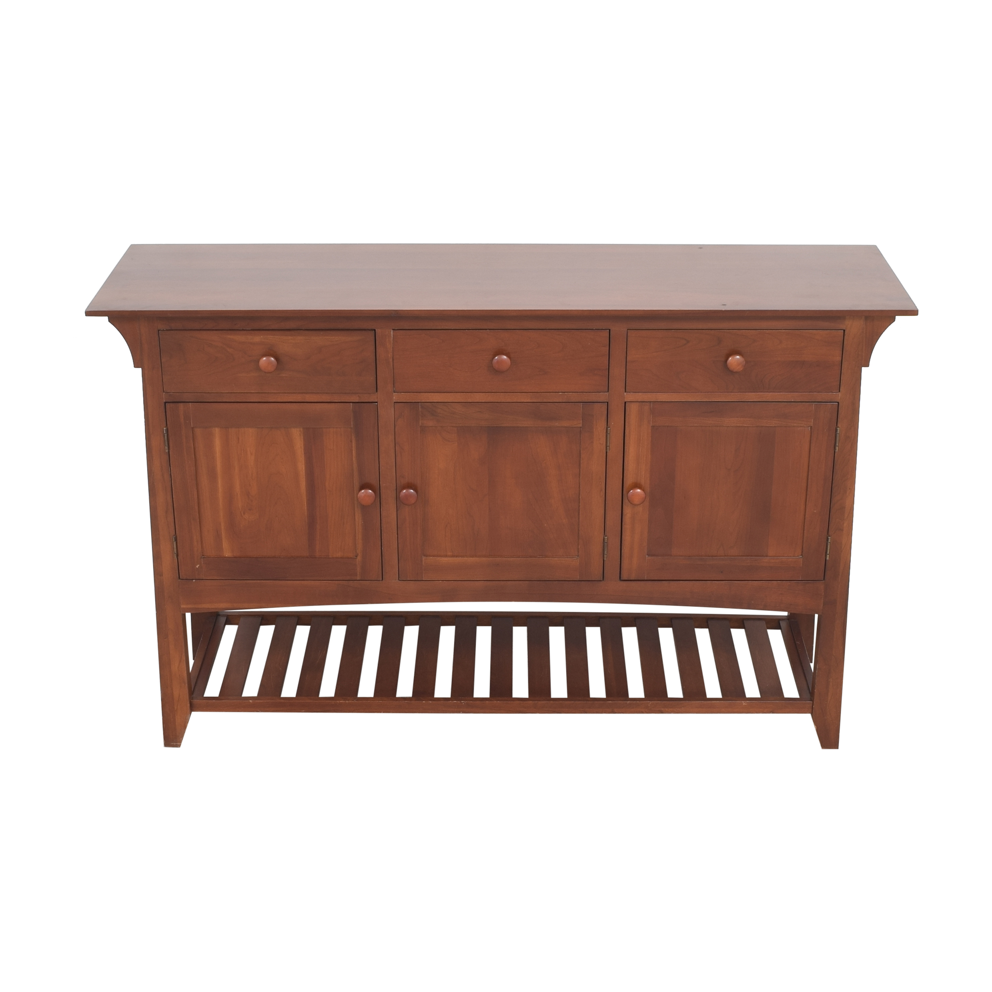 buy Ethan Allen American Impressions Mission Server Buffet Ethan Allen Cabinets & Sideboards