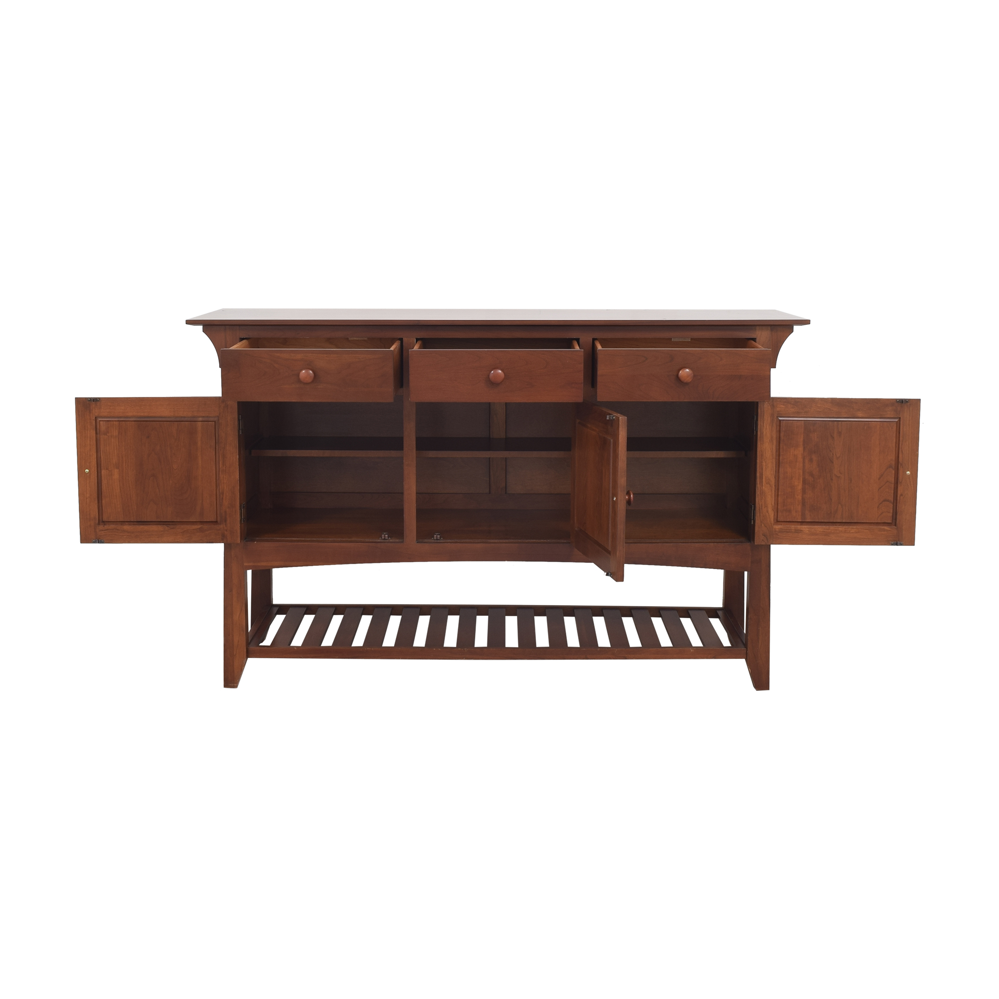 Ethan Allen Ethan Allen American Impressions Mission Server Buffet nyc