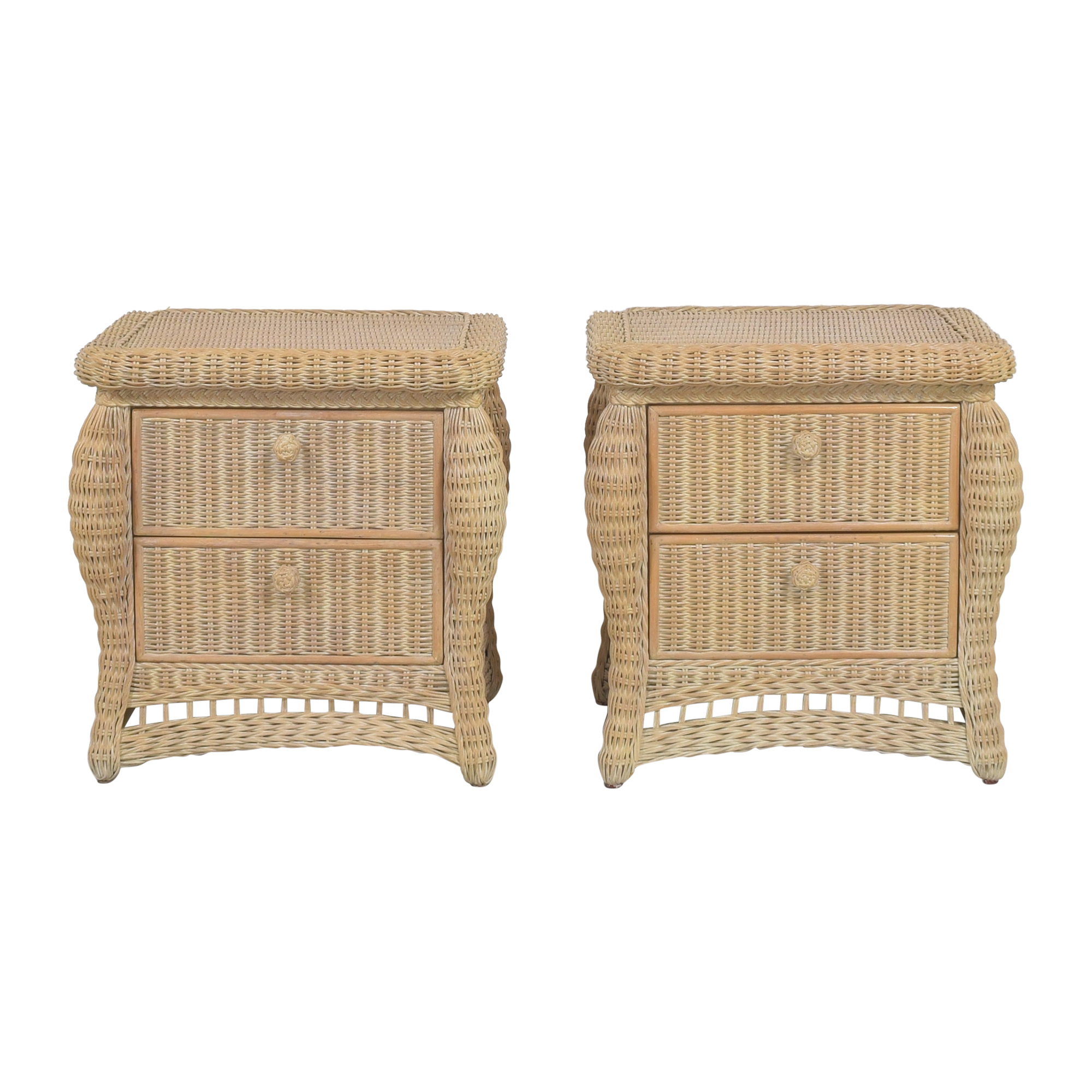 Lane Furniture Lane Furniture Woven Nightstands End Tables