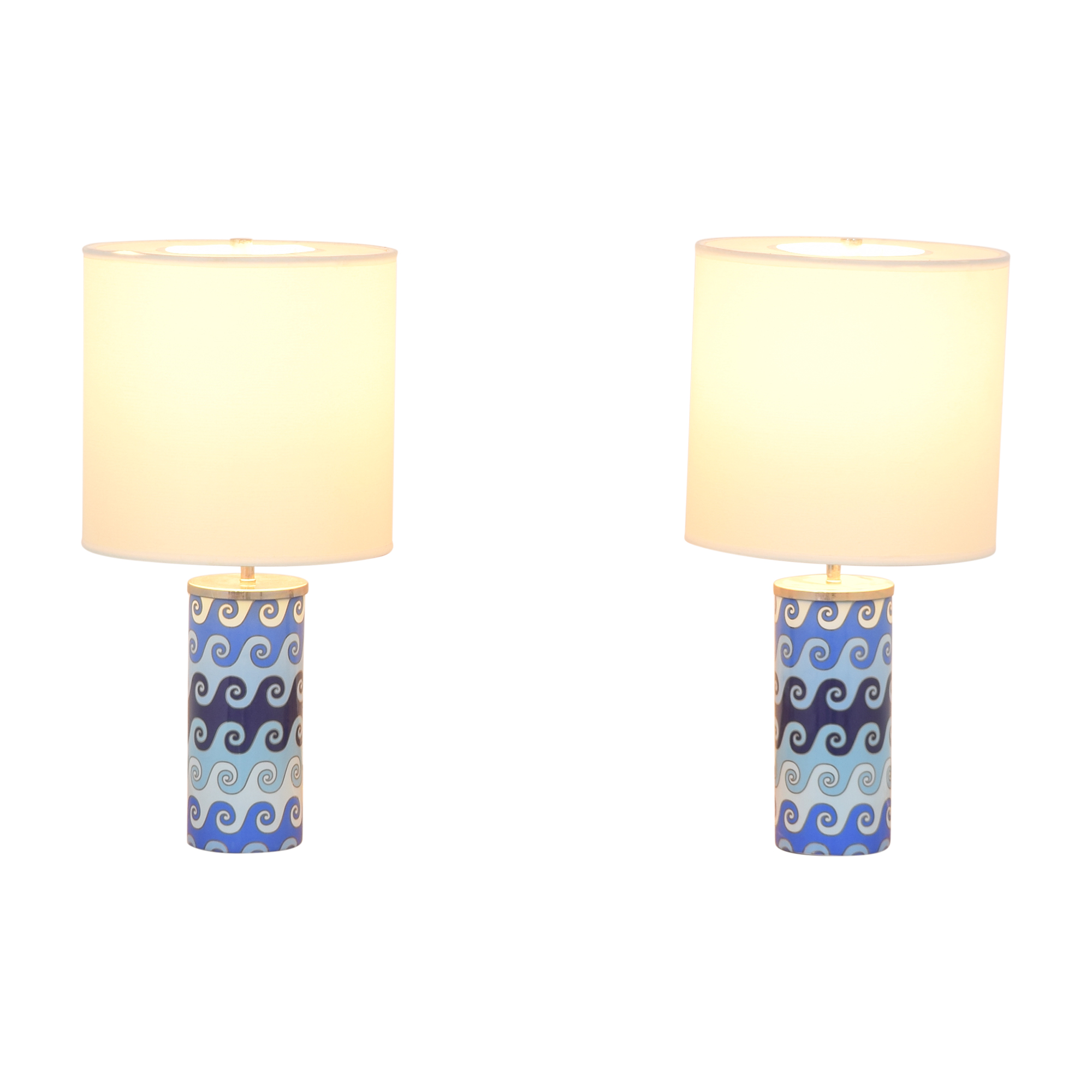 Jonathan Adler Jonathan Adler Carnaby Waves Table Lamps