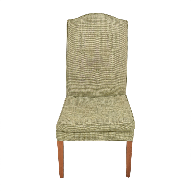 Custom Upholstered High Back Chair  price