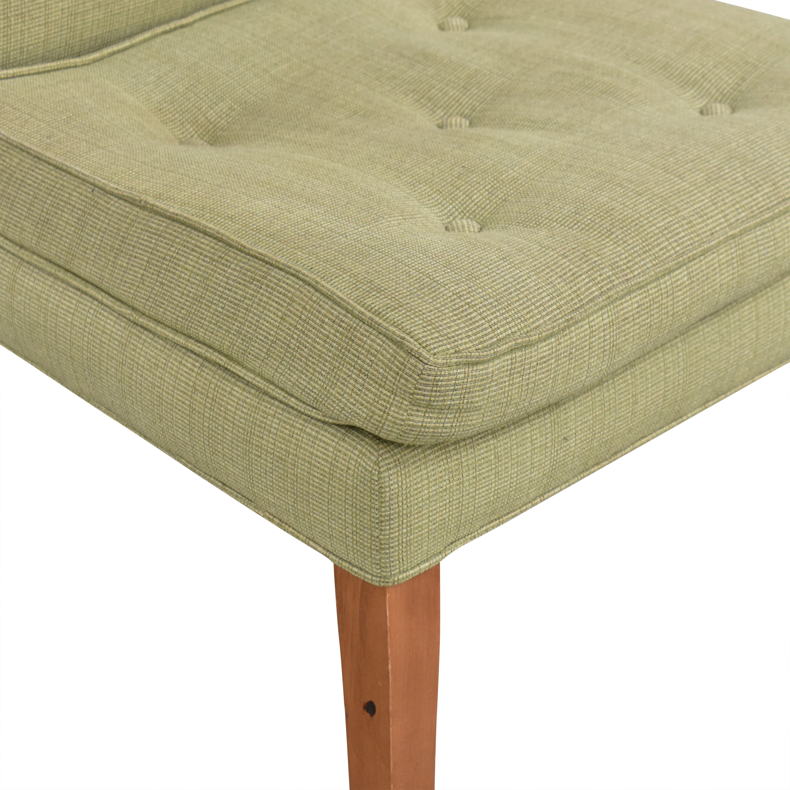 Custom Upholstered High Back Chair  dimensions