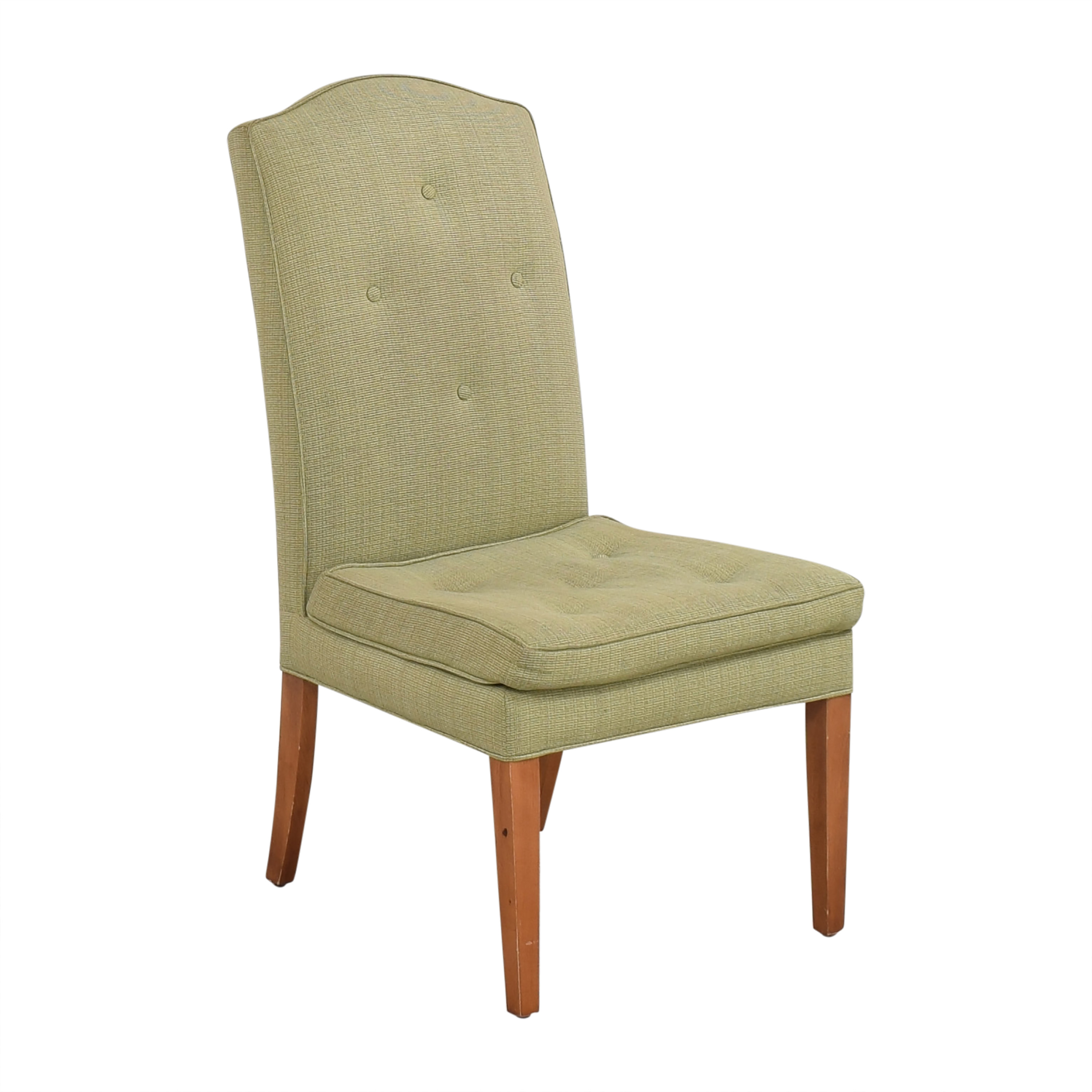 shop Custom Upholstered High Back Chair   Chairs