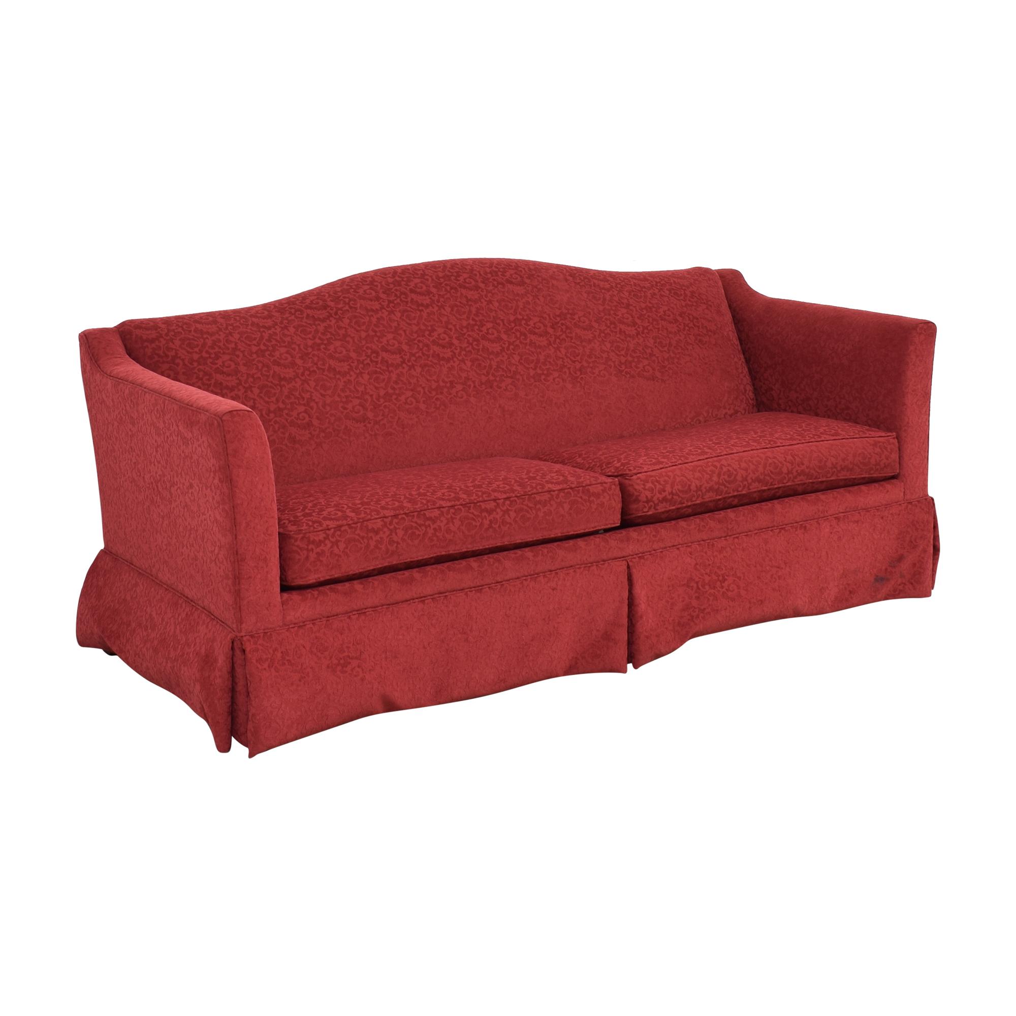 Ethan Allen Ethan Allen Two Cushion Skirted Sofa nj