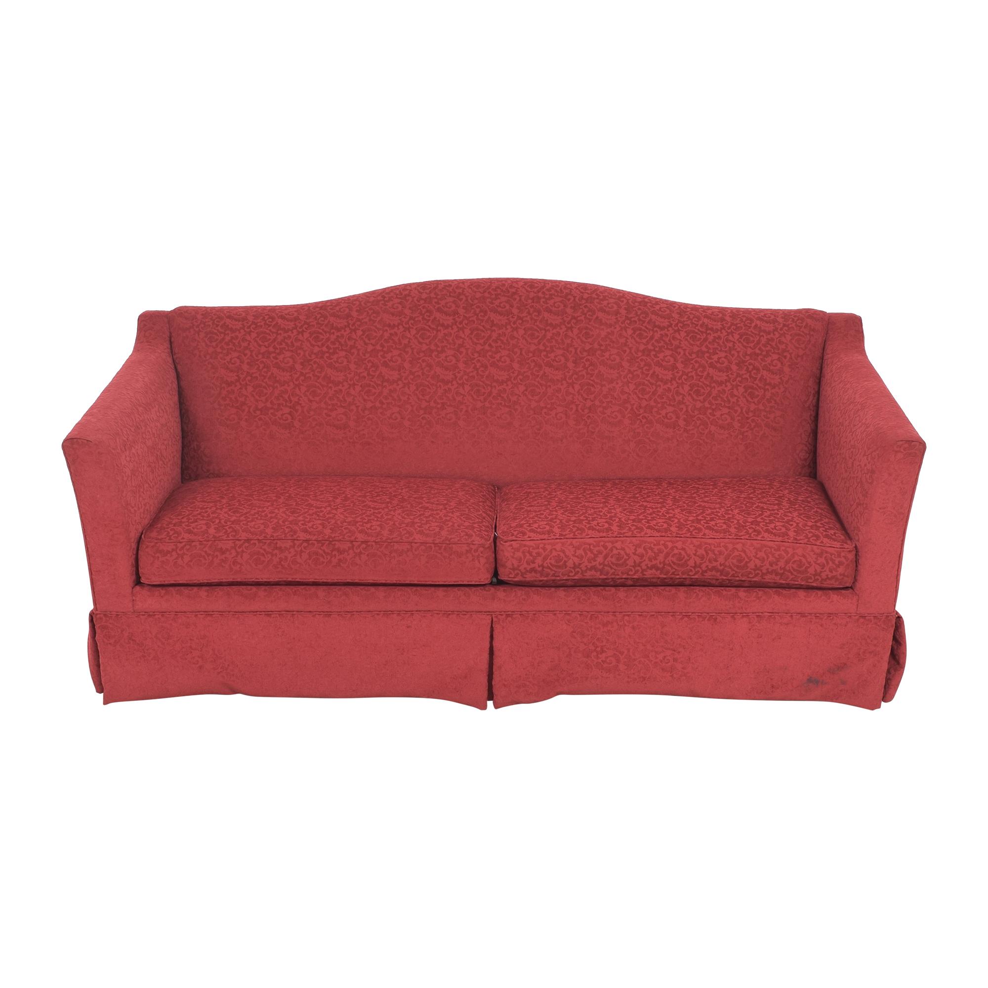 Ethan Allen Ethan Allen Two Cushion Skirted Sofa second hand