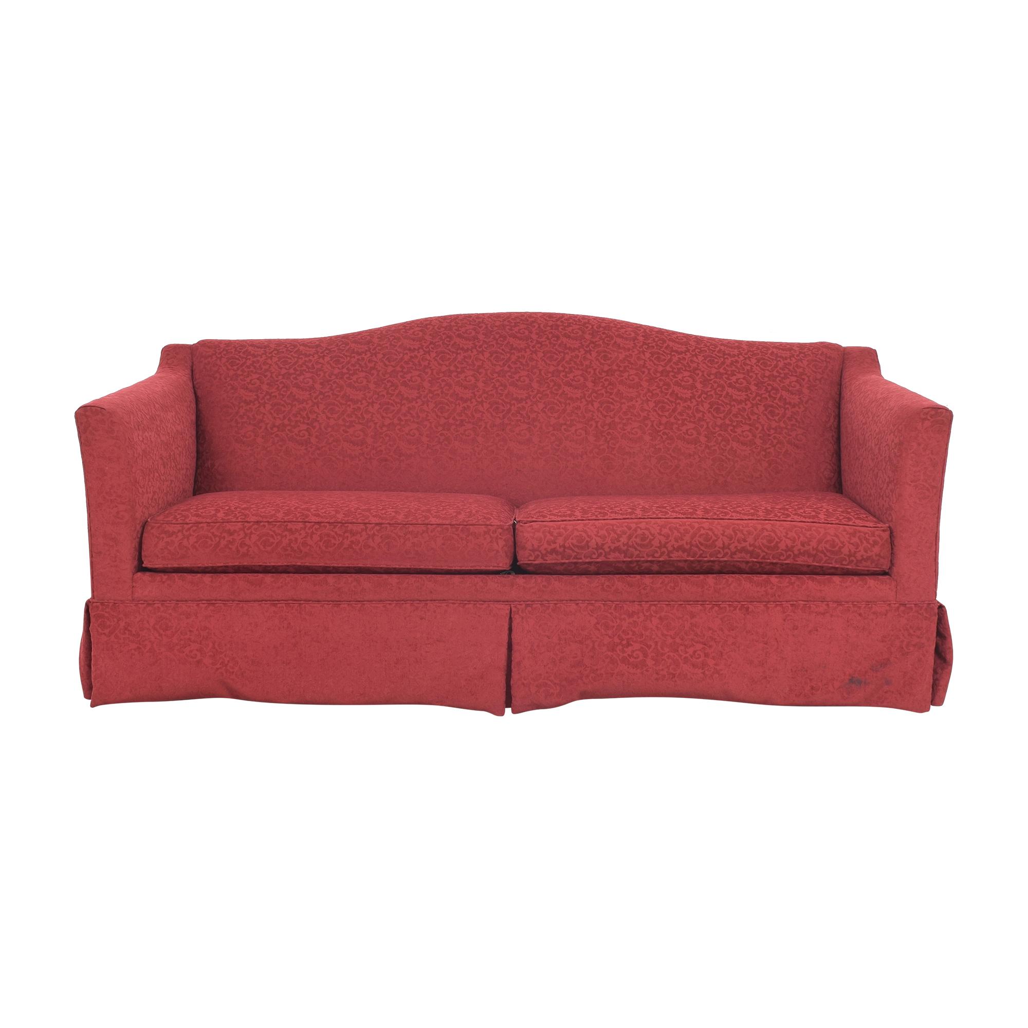 buy Ethan Allen Two Cushion Skirted Sofa Ethan Allen