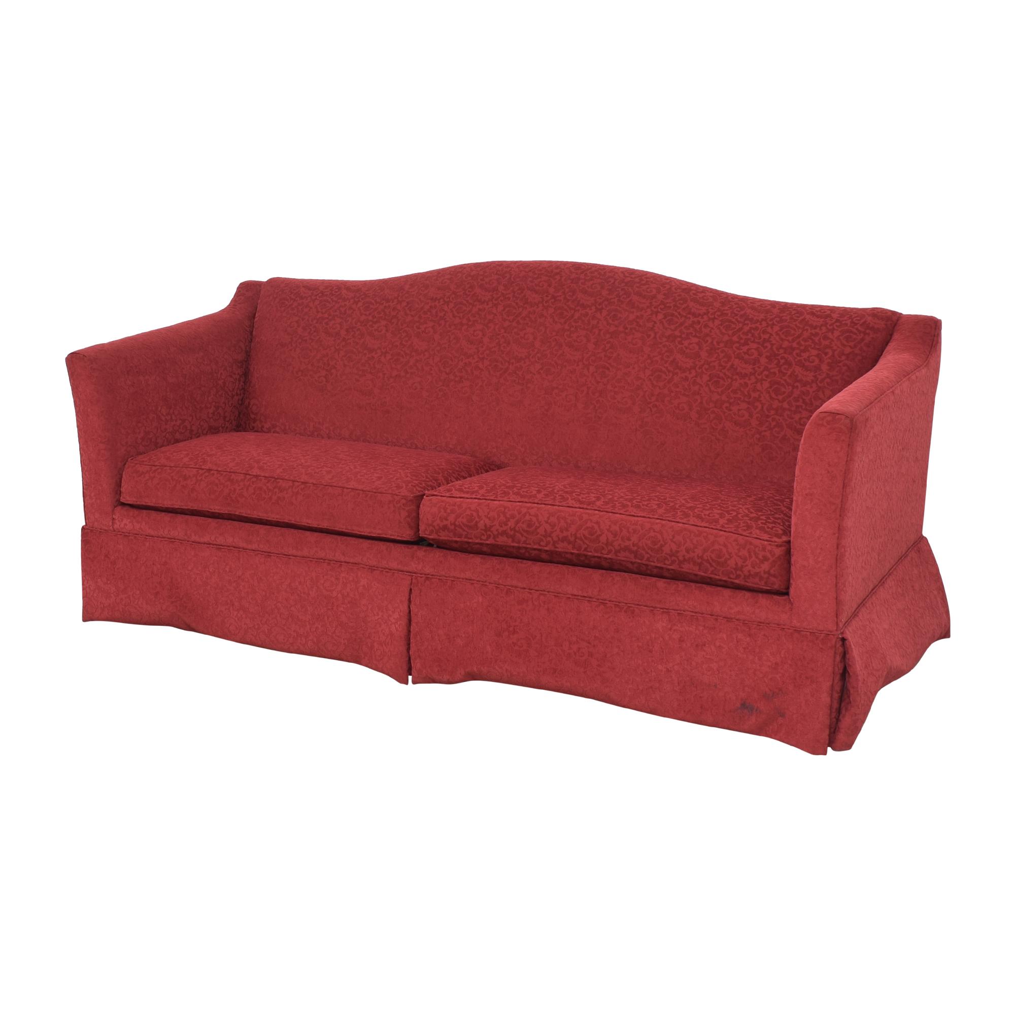 Ethan Allen Ethan Allen Two Cushion Skirted Sofa used