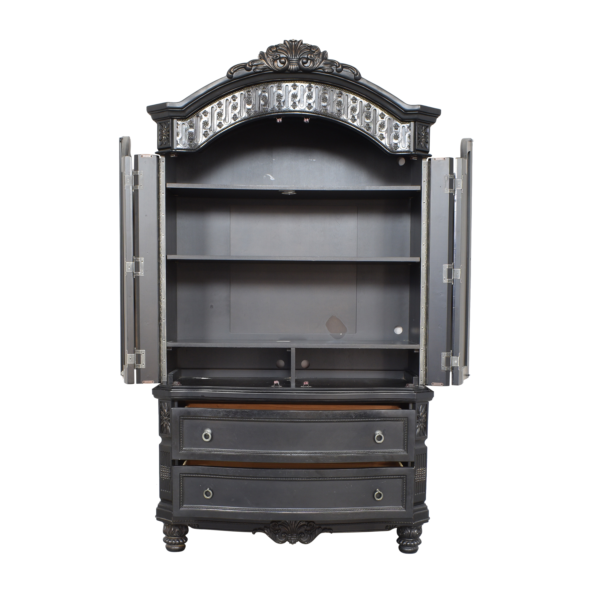 Two Drawer Armoire discount