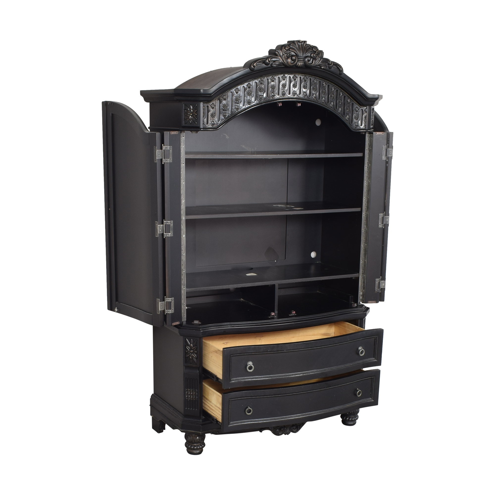 Two Drawer Armoire for sale