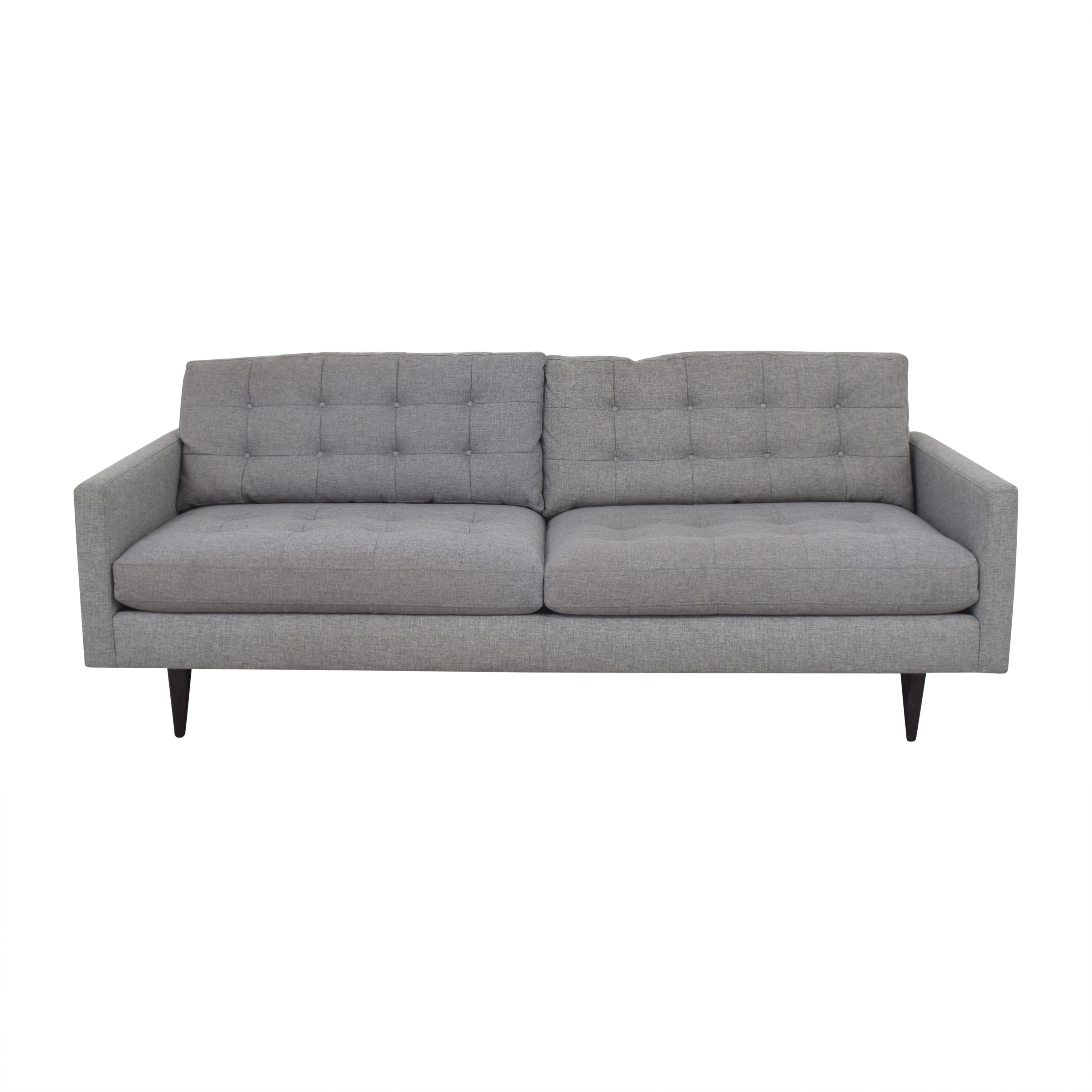 shop Crate & Barrel Petrie Mid-Century Sofa Crate & Barrel Classic Sofas