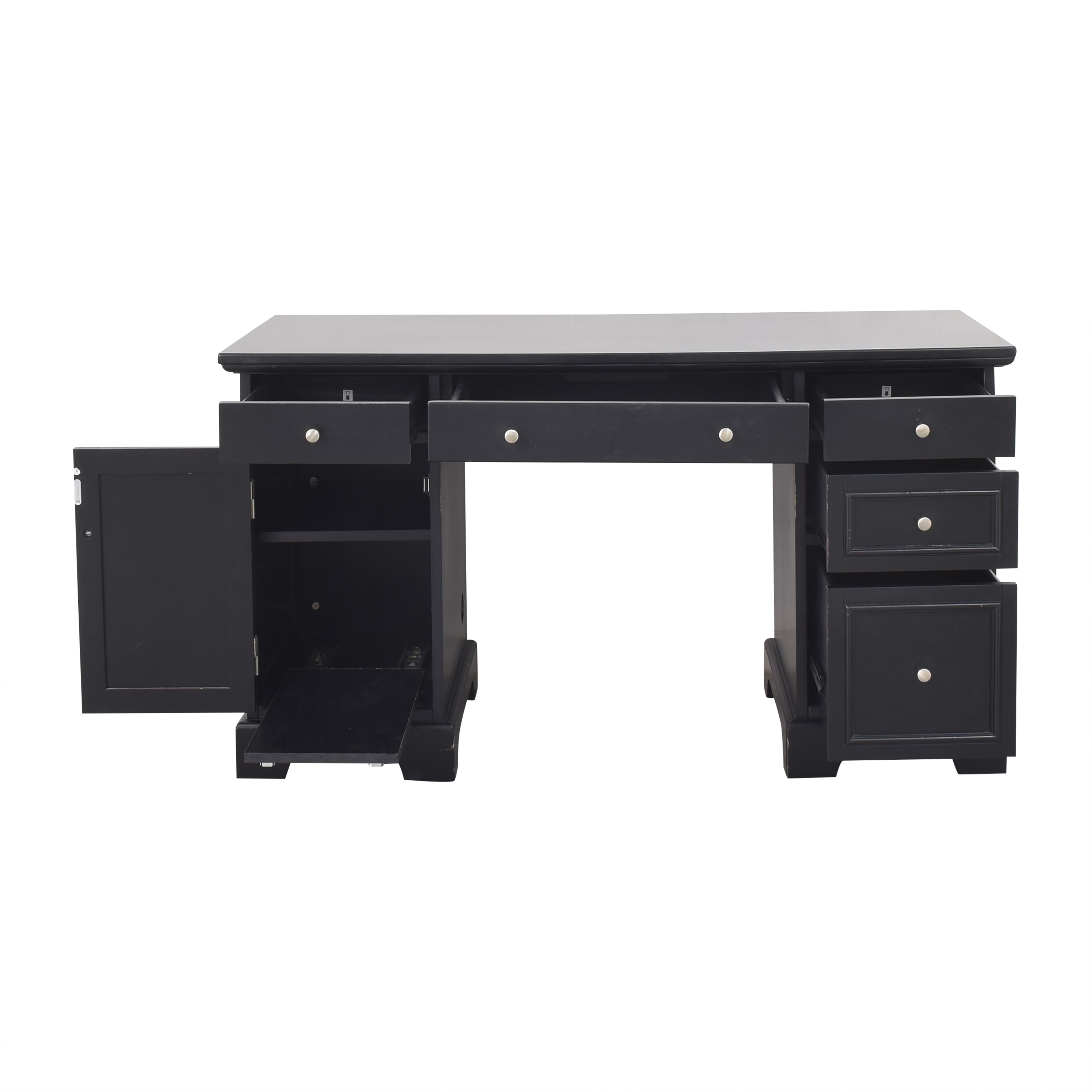 Home Styles Home Styles Bedford Pedestal Desk nj