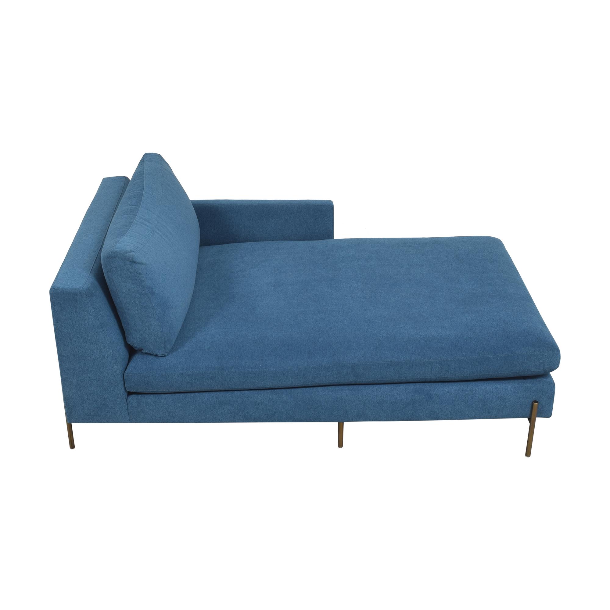BenchMade Modern BenchMade Modern Catwalk Chaise blue