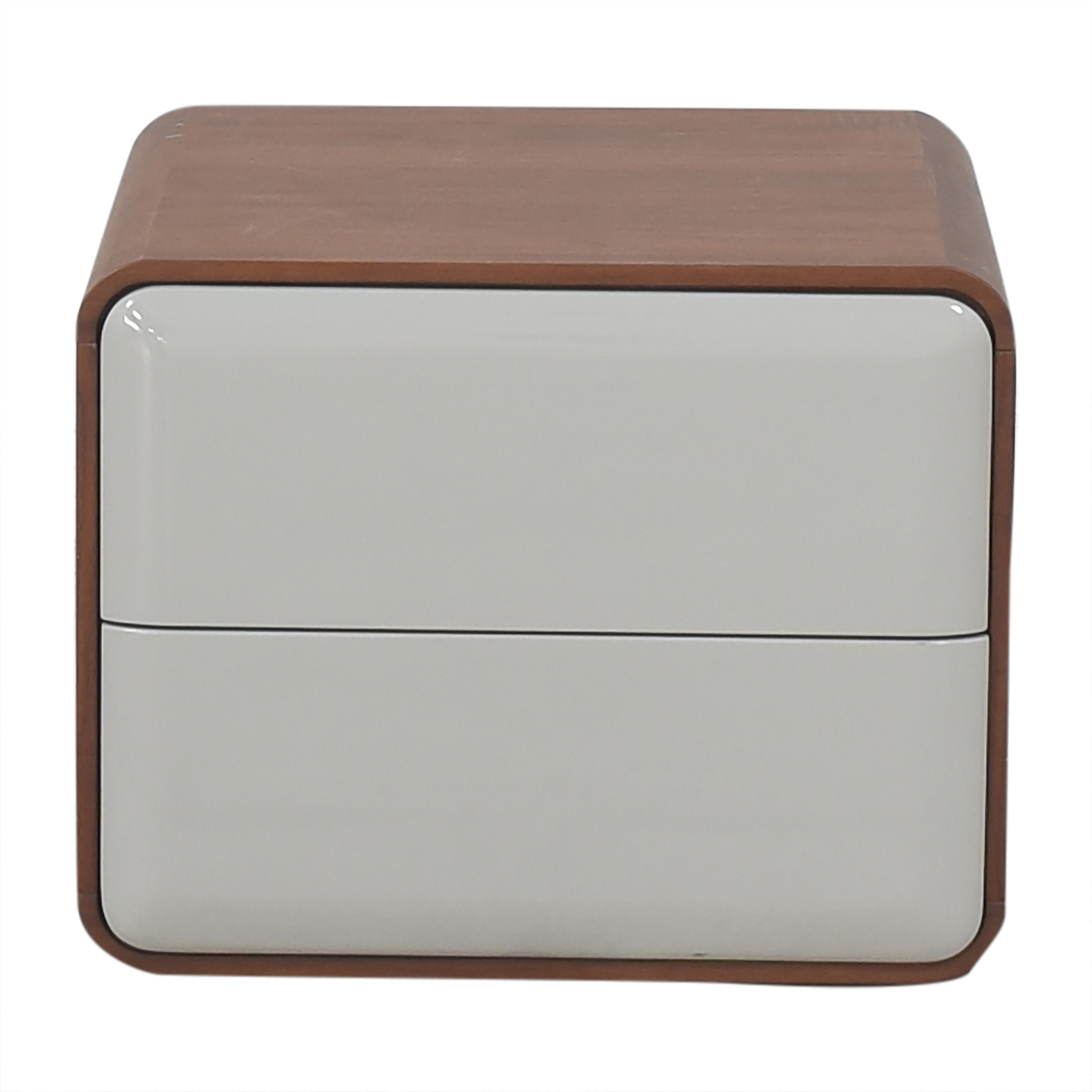 Control Brand Mid Century Two Drawer Nightstand Control Brand