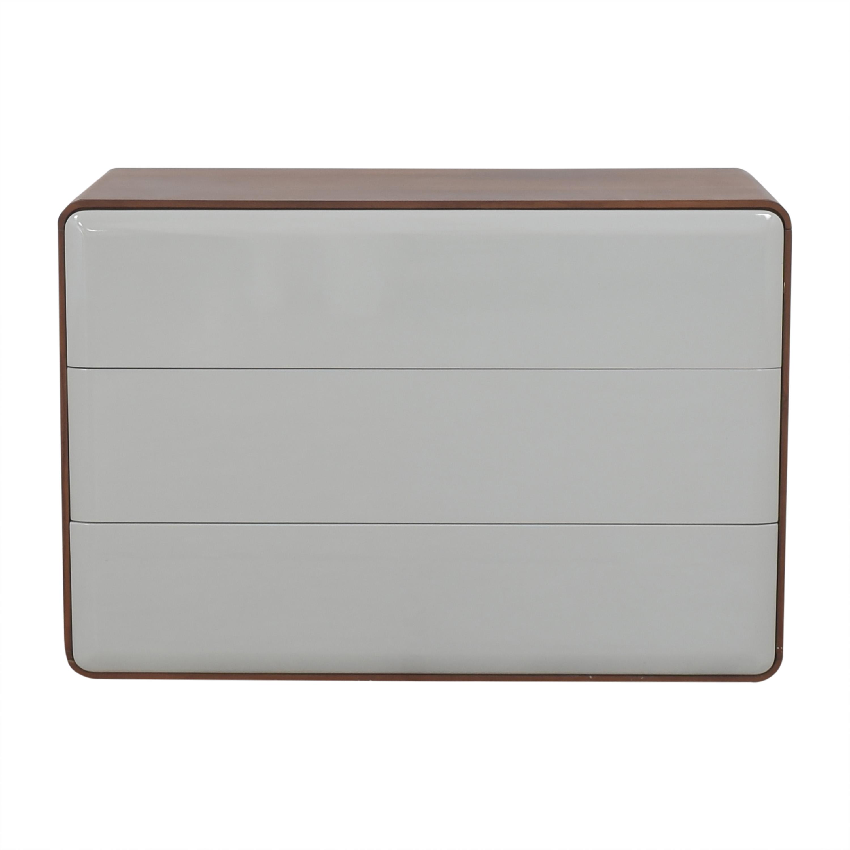 Control Brand Control Brand Mid Century Three Drawer Dresser dimensions