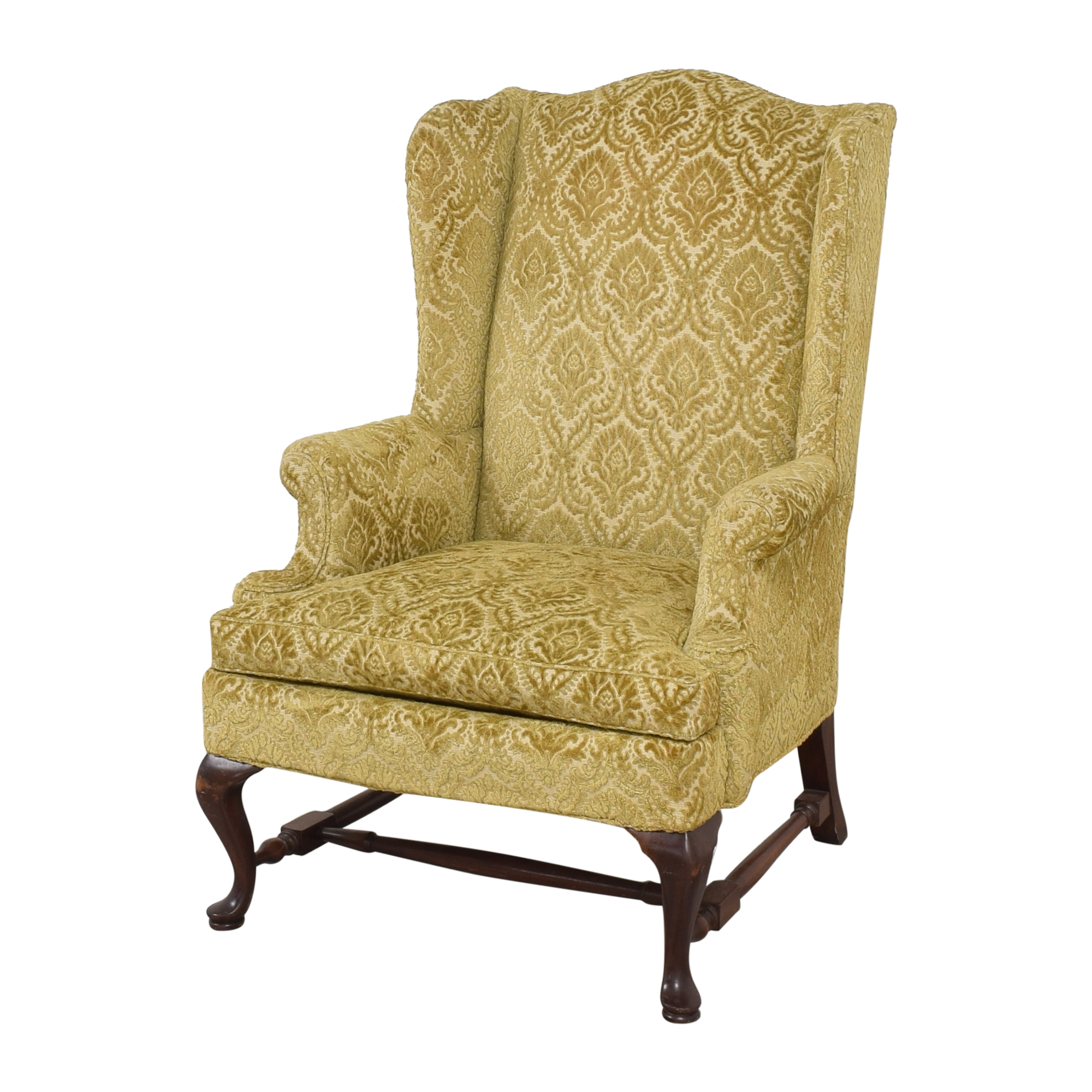 Hickory Chair Hickory Chair Queen Anne Wing Back Chair nj