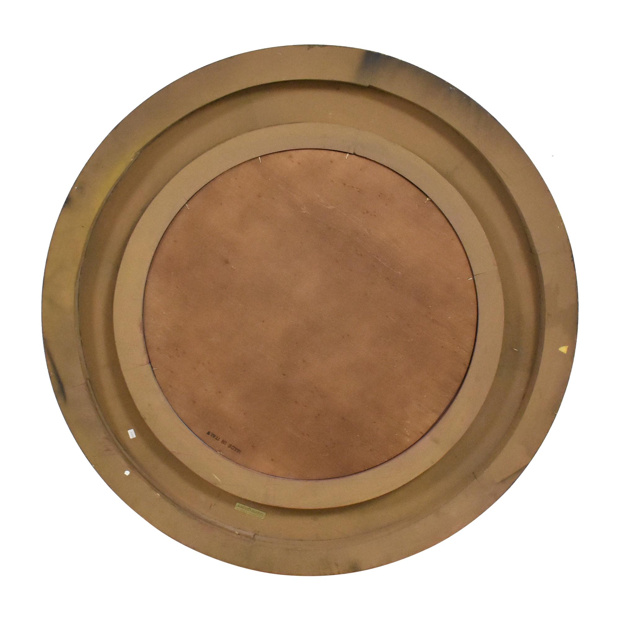 Bloomingdale's Bloomingdale's Round Framed Mirror pa