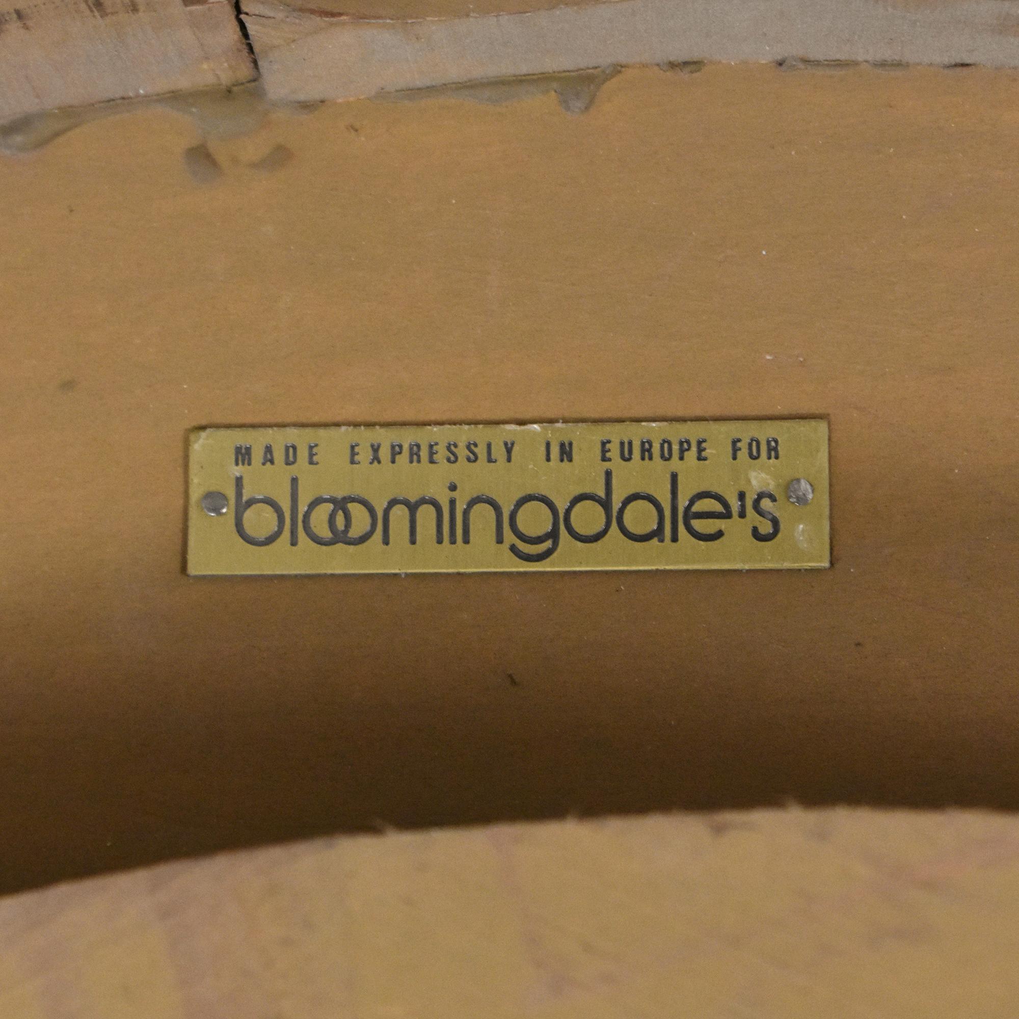 Bloomingdale's Bloomingdale's Round Framed Mirror nj
