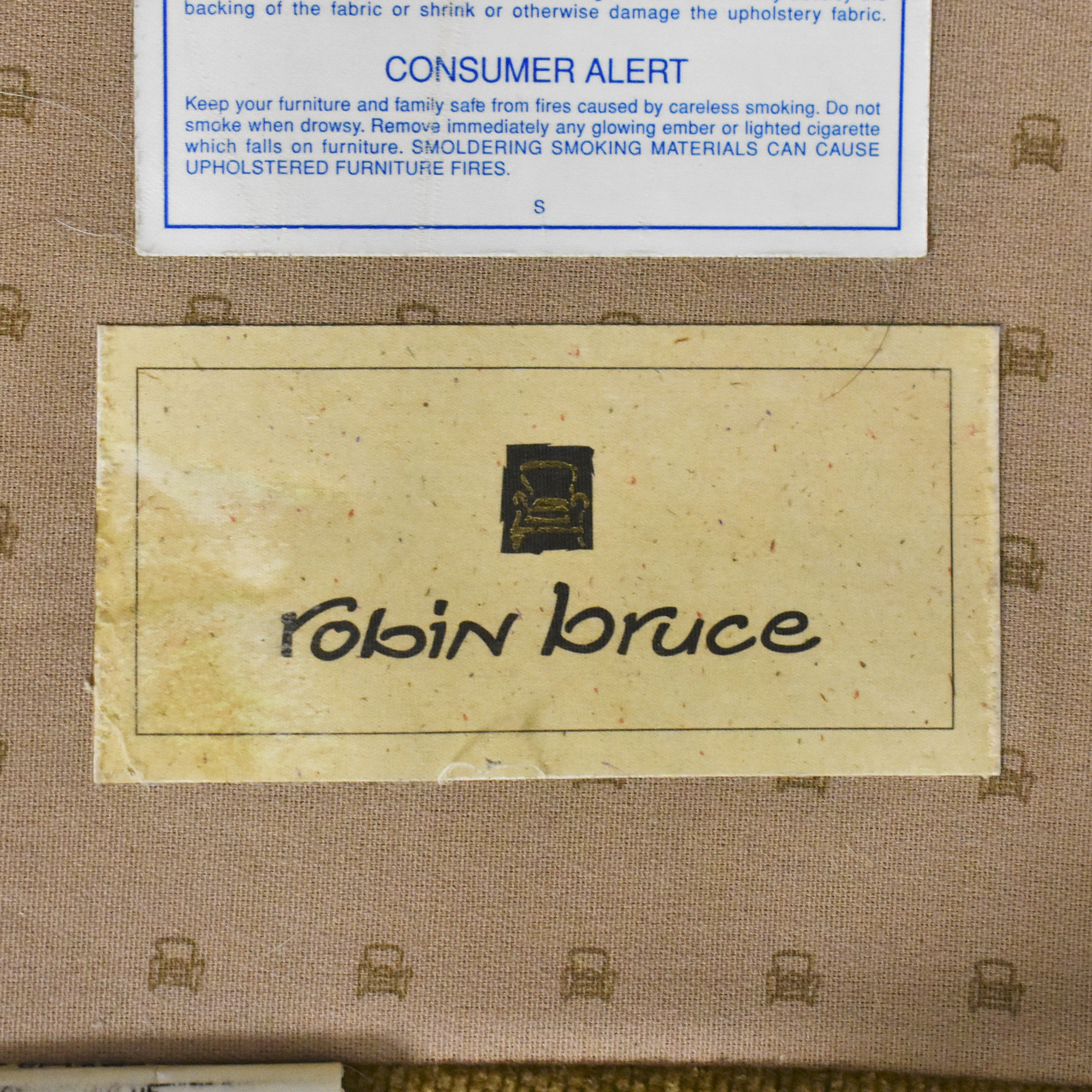 Robin Bruce Bench Cushion Sofa / Sofas