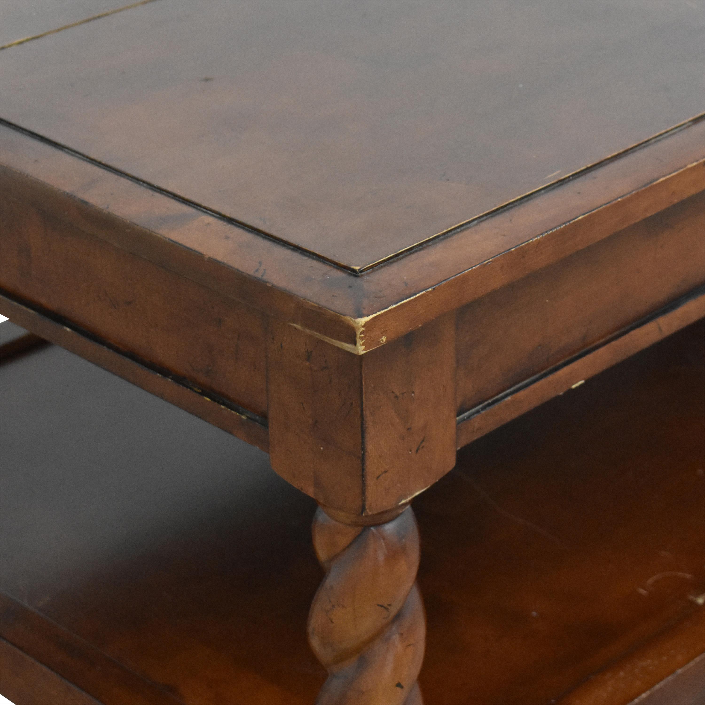 Restoration Hardware Restoration Hardware Two Tier Coffee Table used