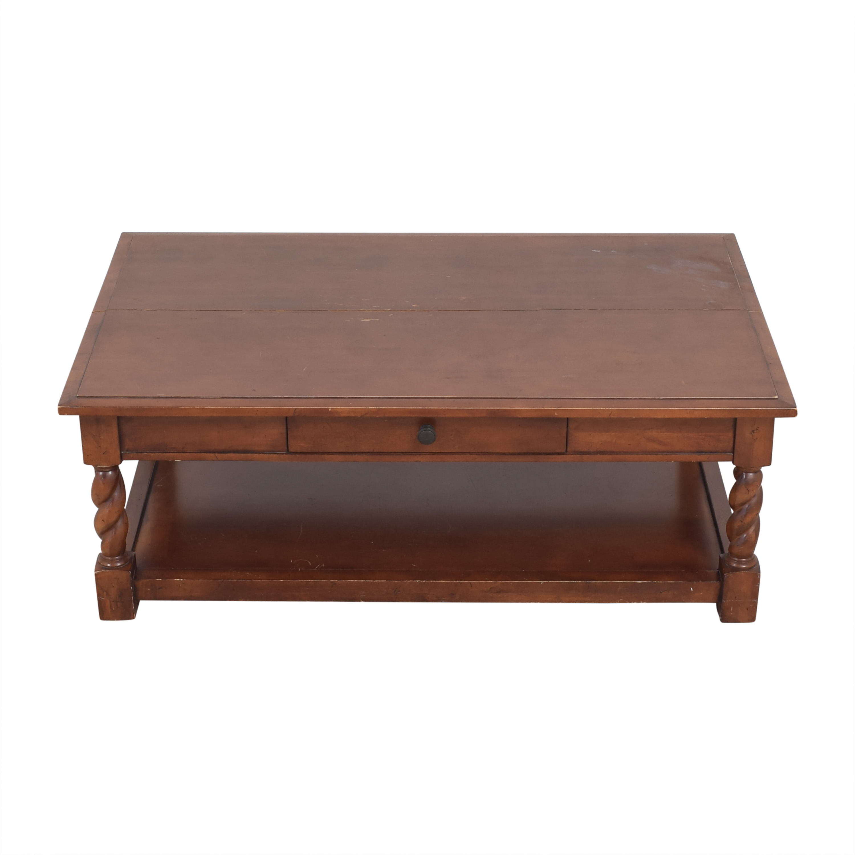Restoration Hardware Restoration Hardware Two Tier Coffee Table Coffee Tables
