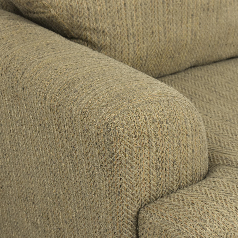 Schnadig Two Cushion Sofa Schnadig