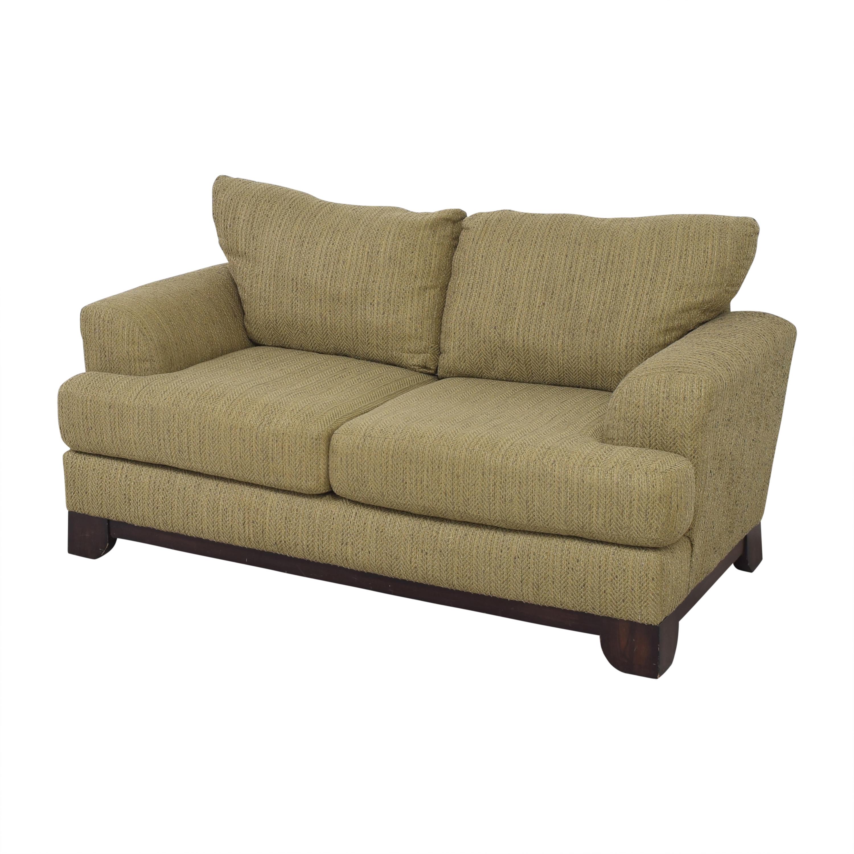 shop Schnadig Two Cushion Sofa Schnadig Sofas