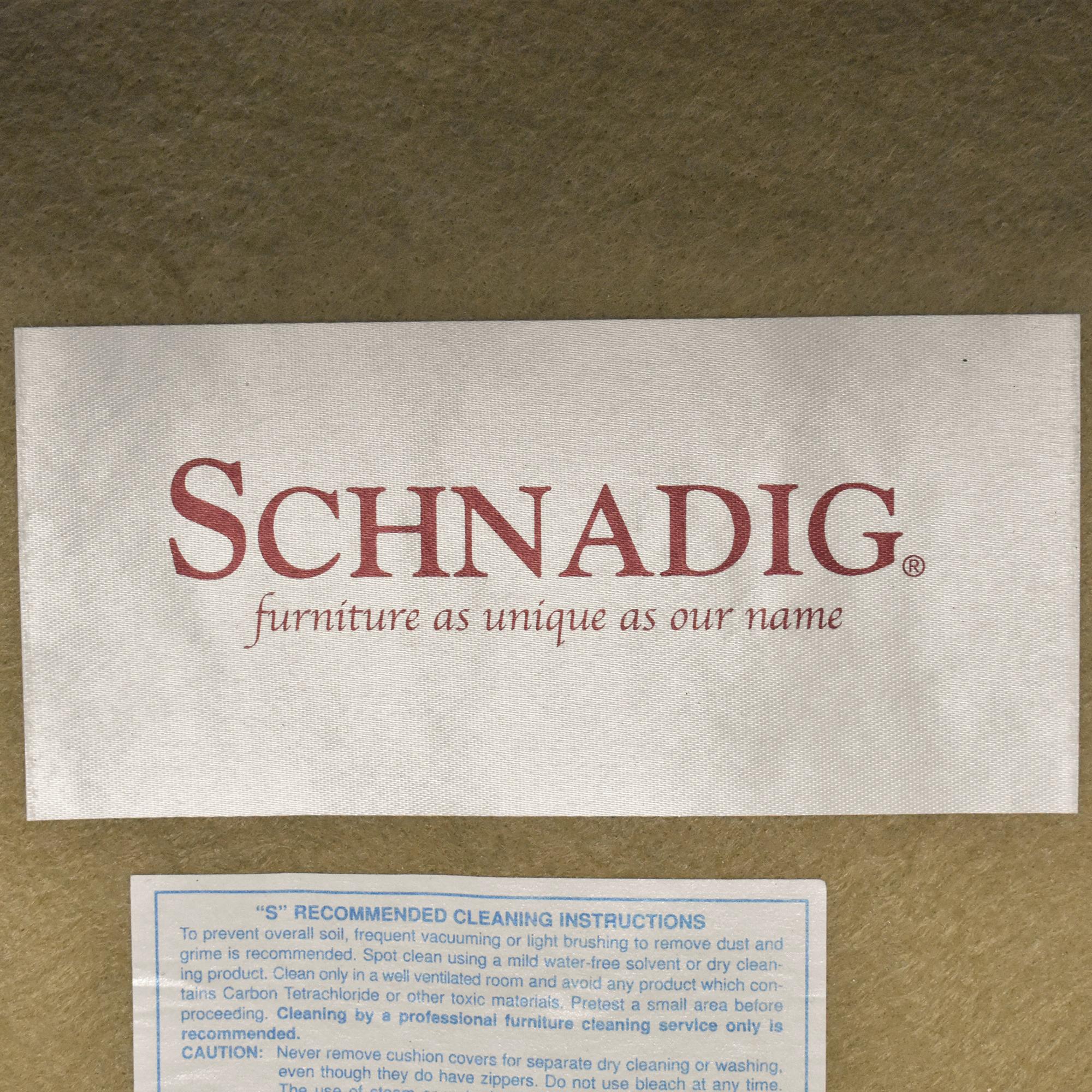Schnadig Chair and a Half Schnadig