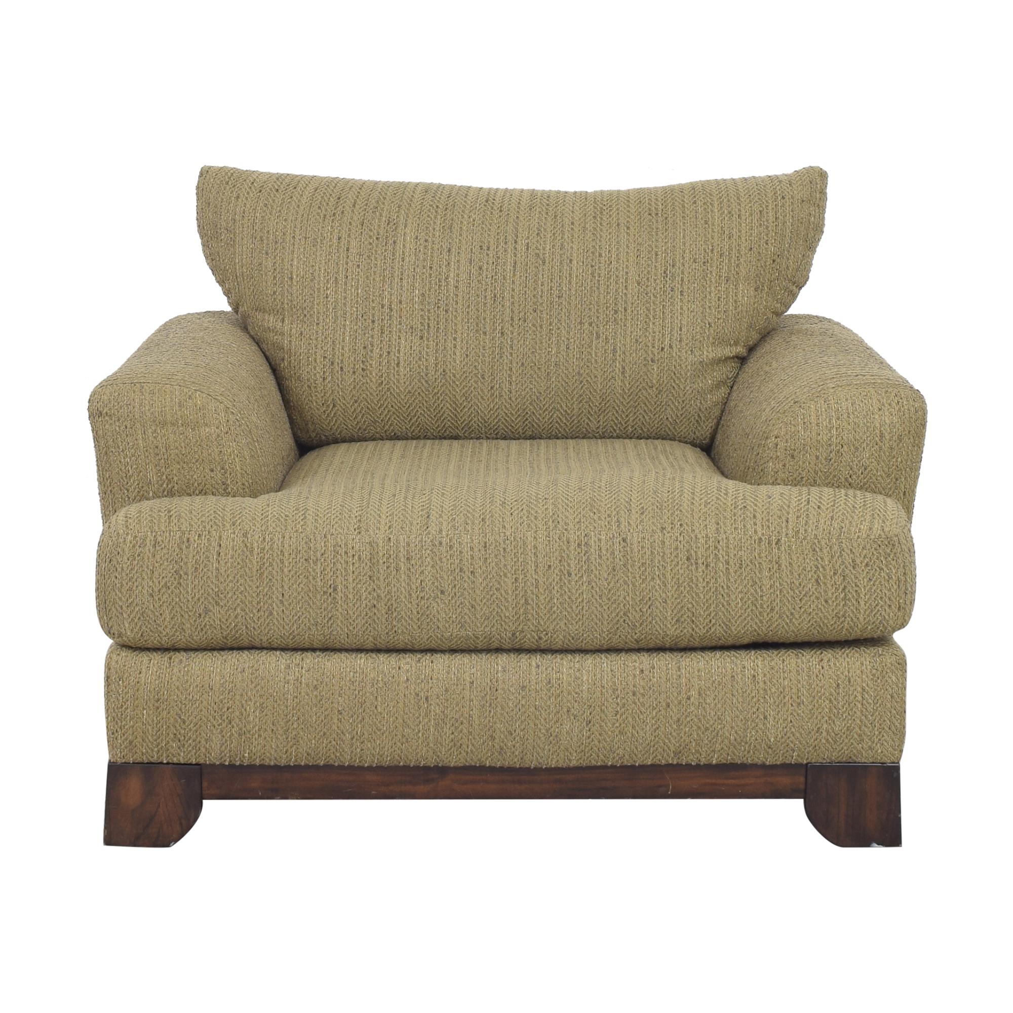 buy Schnadig Chair and a Half Schnadig